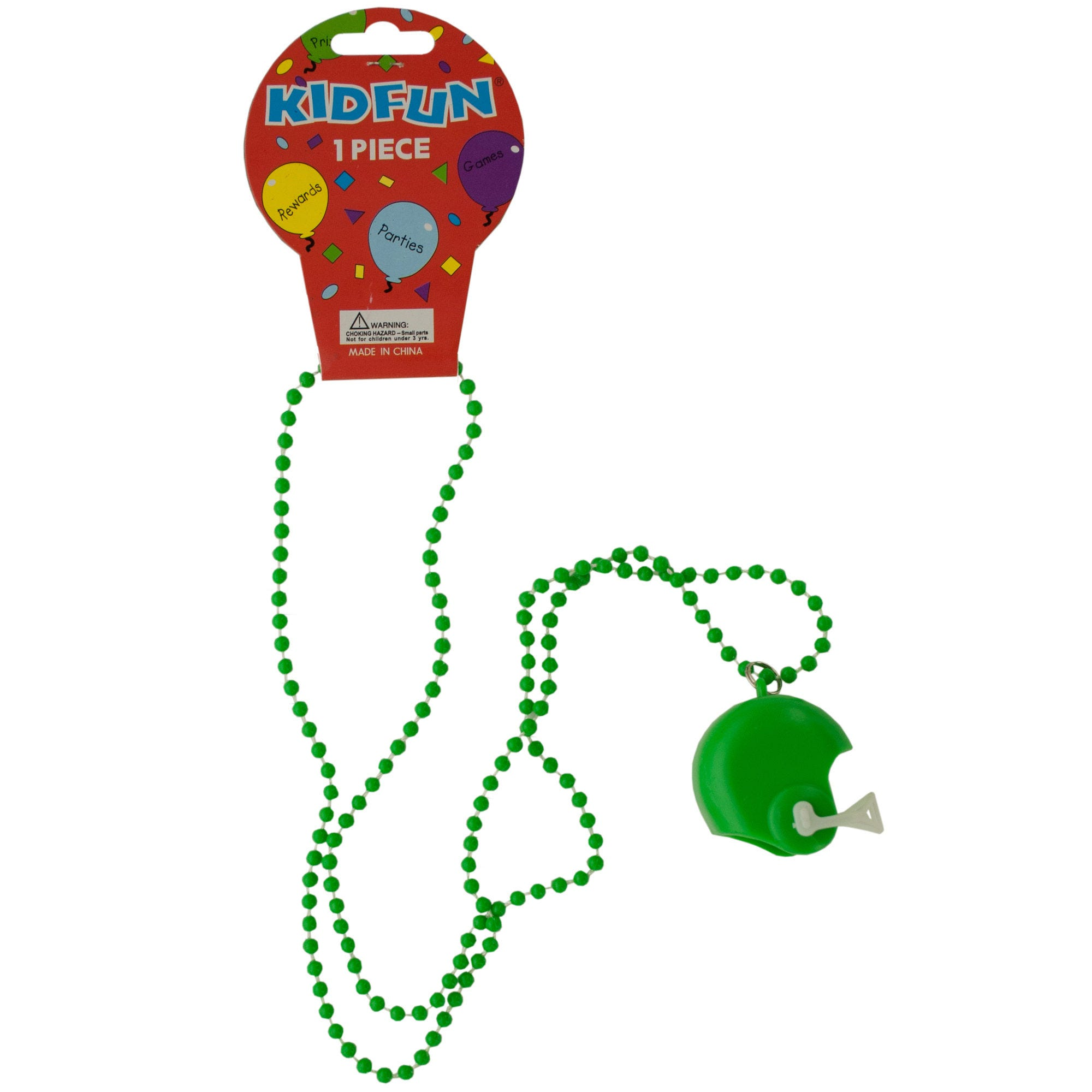 green-FOOTBALL-helmet-party-necklace