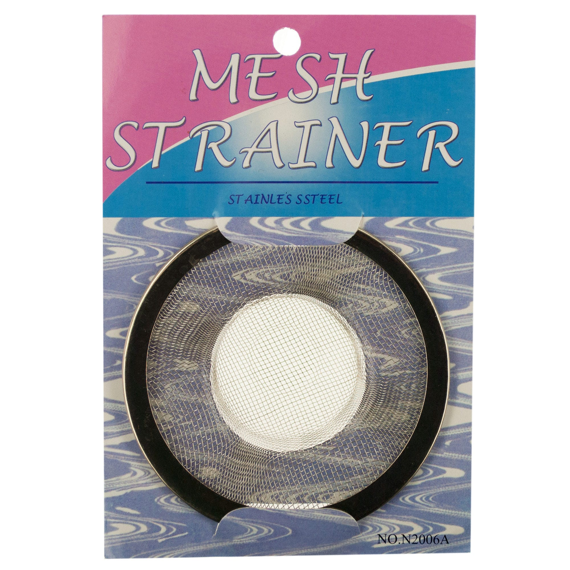 Stainless Steel Mesh Sink Strainer- Qty 24