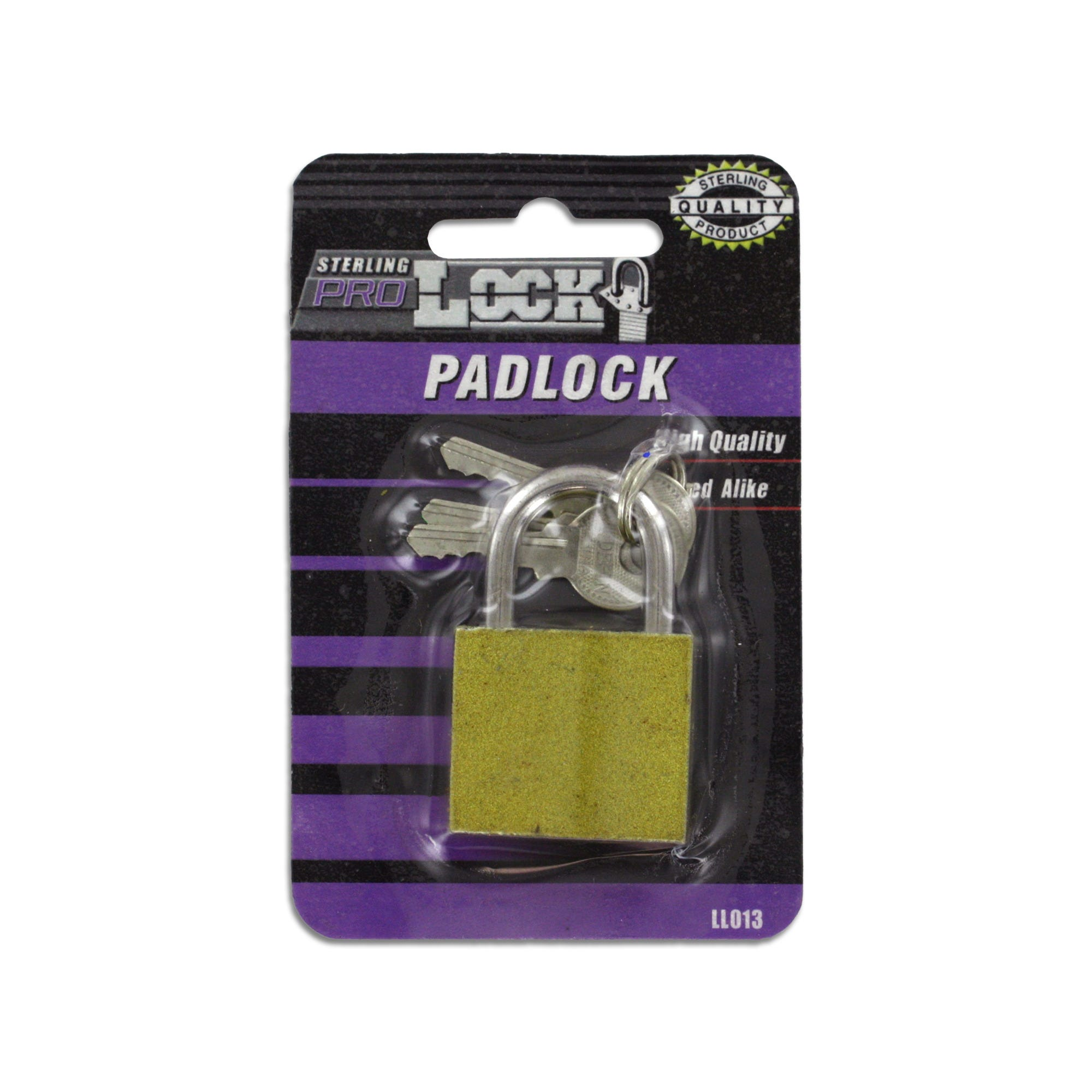 Iron Padlock with Keys