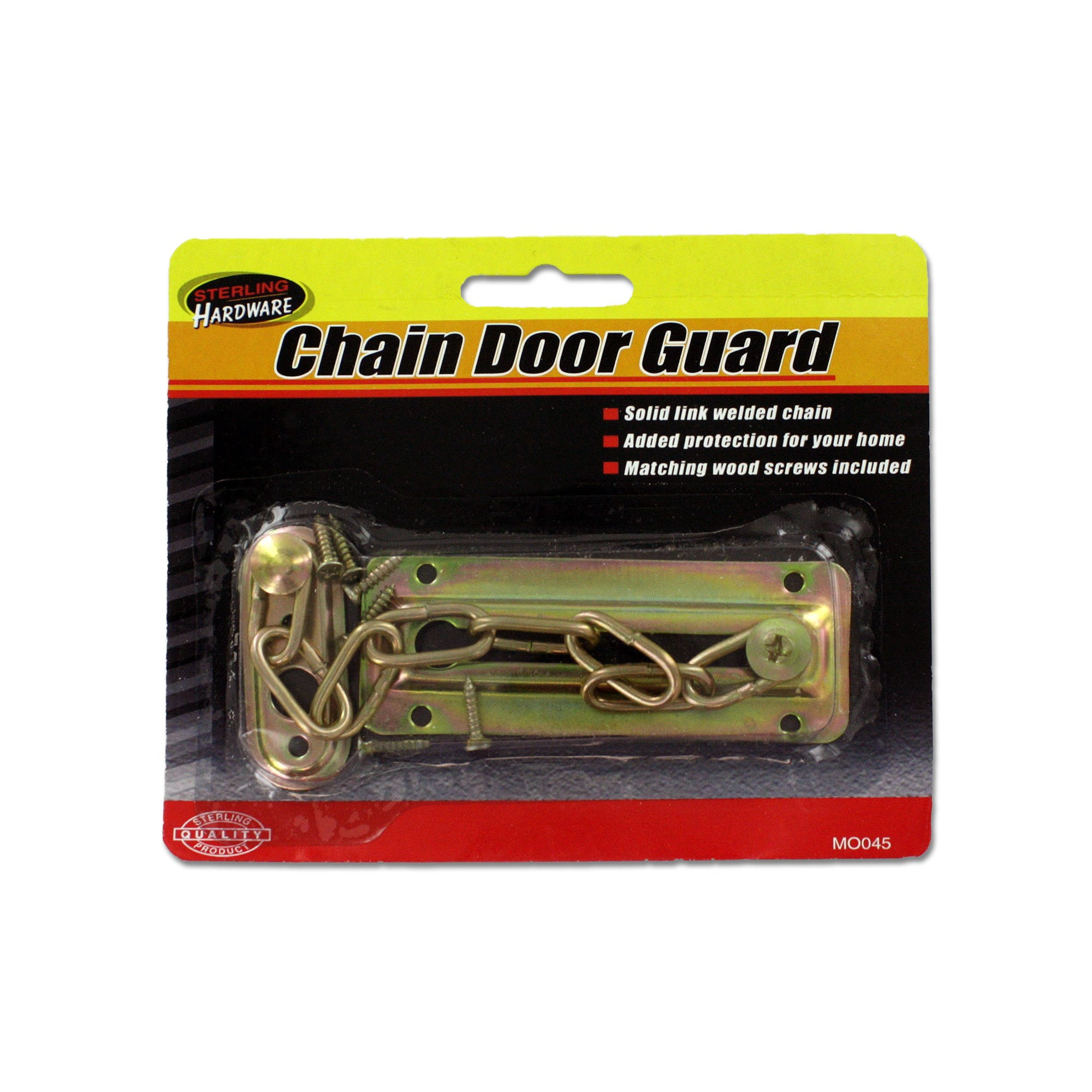 Chain Door Guard with SCREWS- Qty 24
