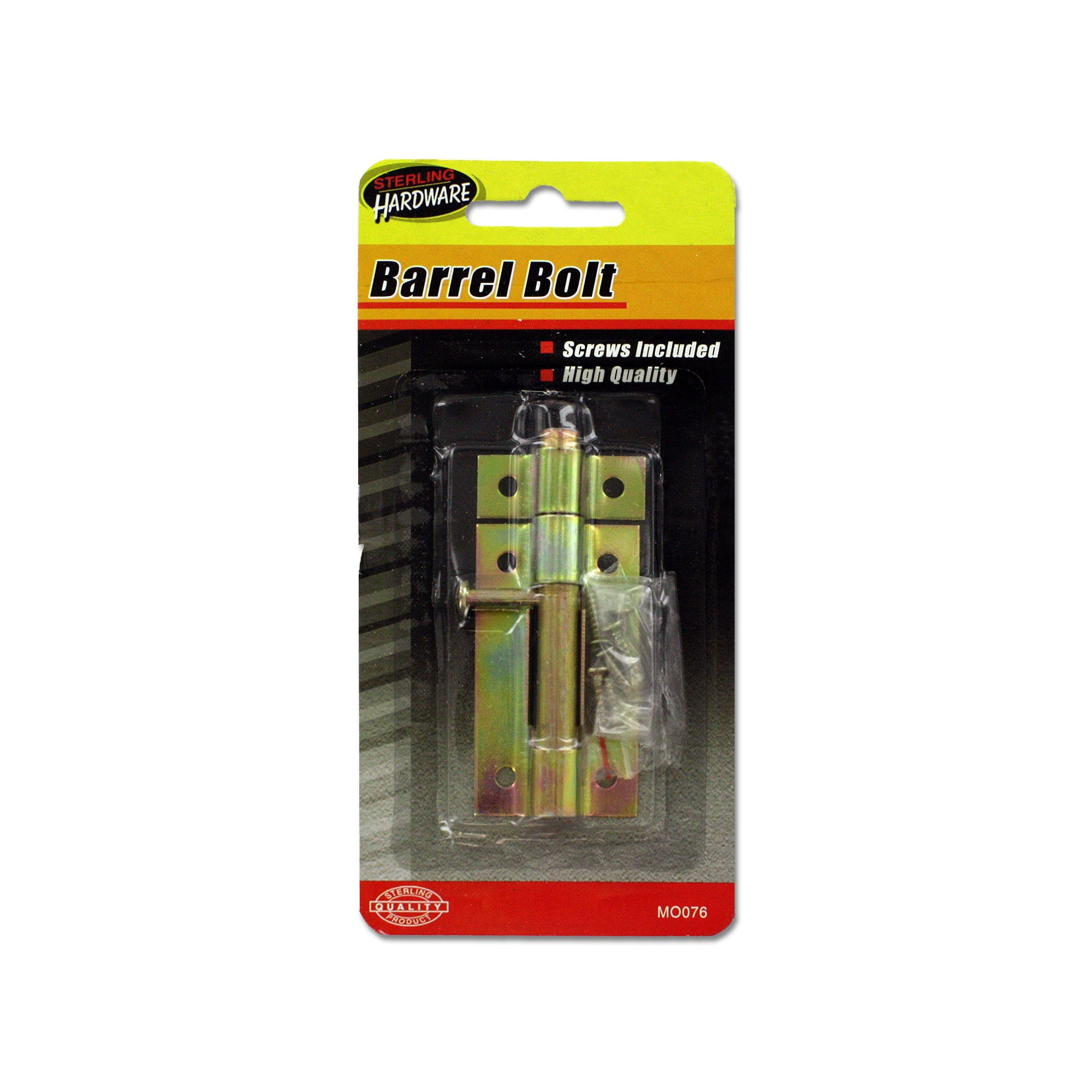 Barrel Bolt with SCREWS