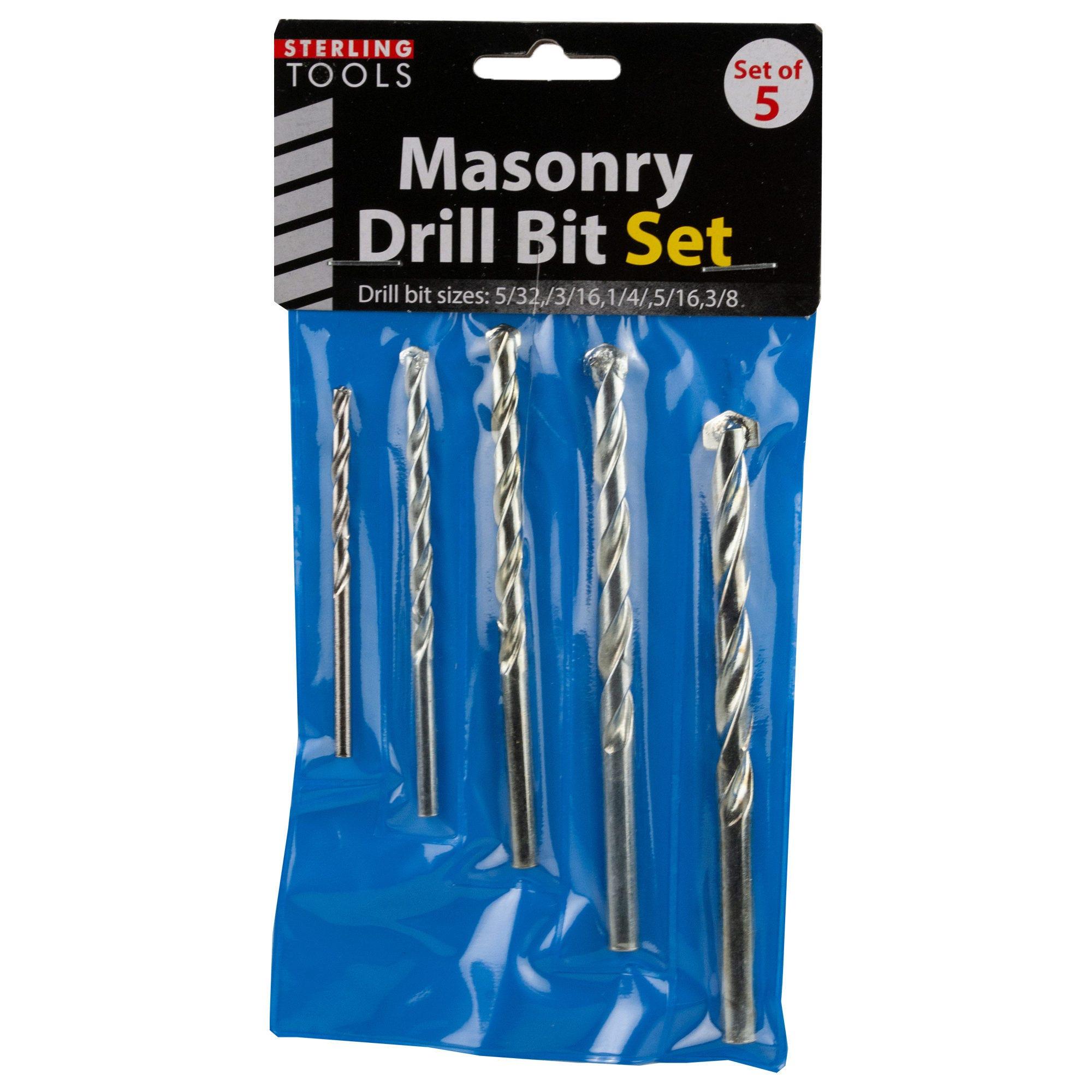 Masonry DRILL Bits- Qty 24