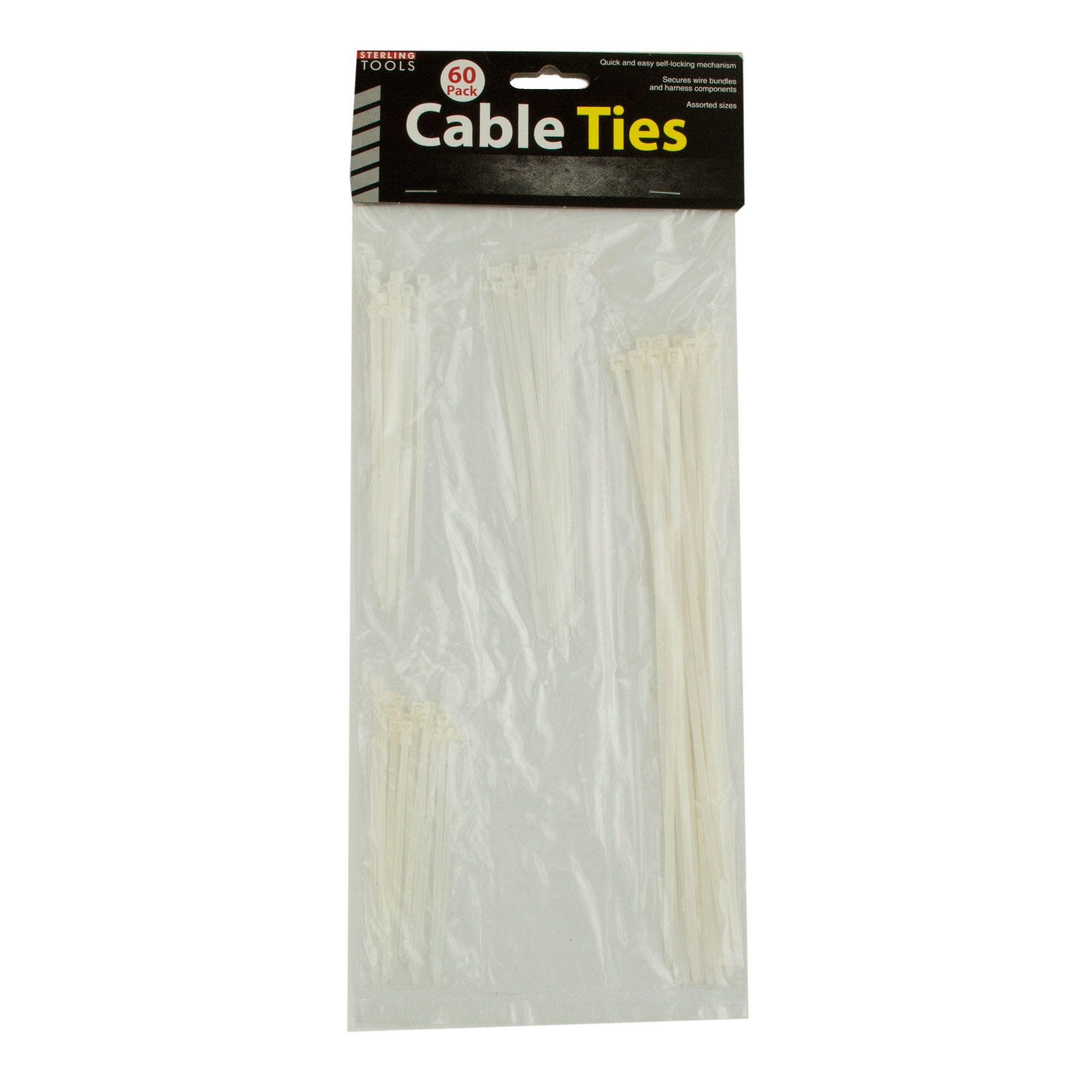 Multi-Purpose Cable Ties- Qty 18