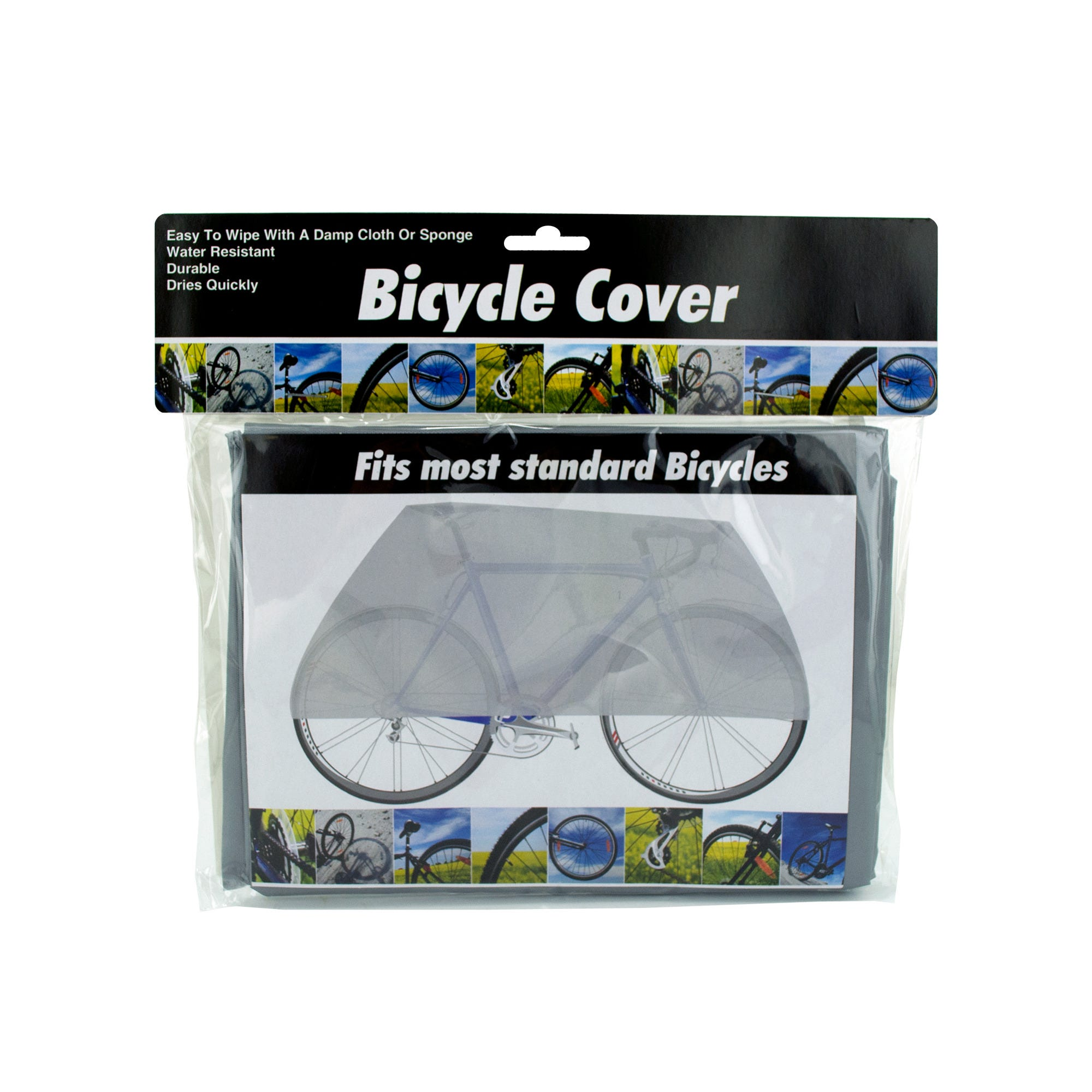 Plastic Bicycle Cover- Qty 18