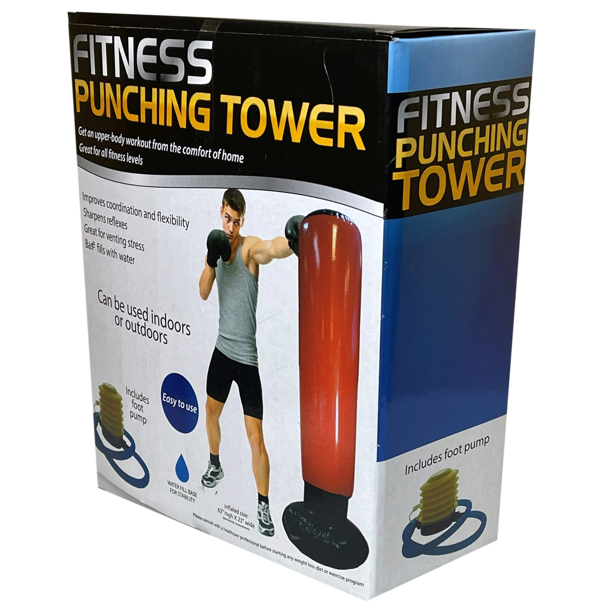 Fitness Punching Tower- Qty 4