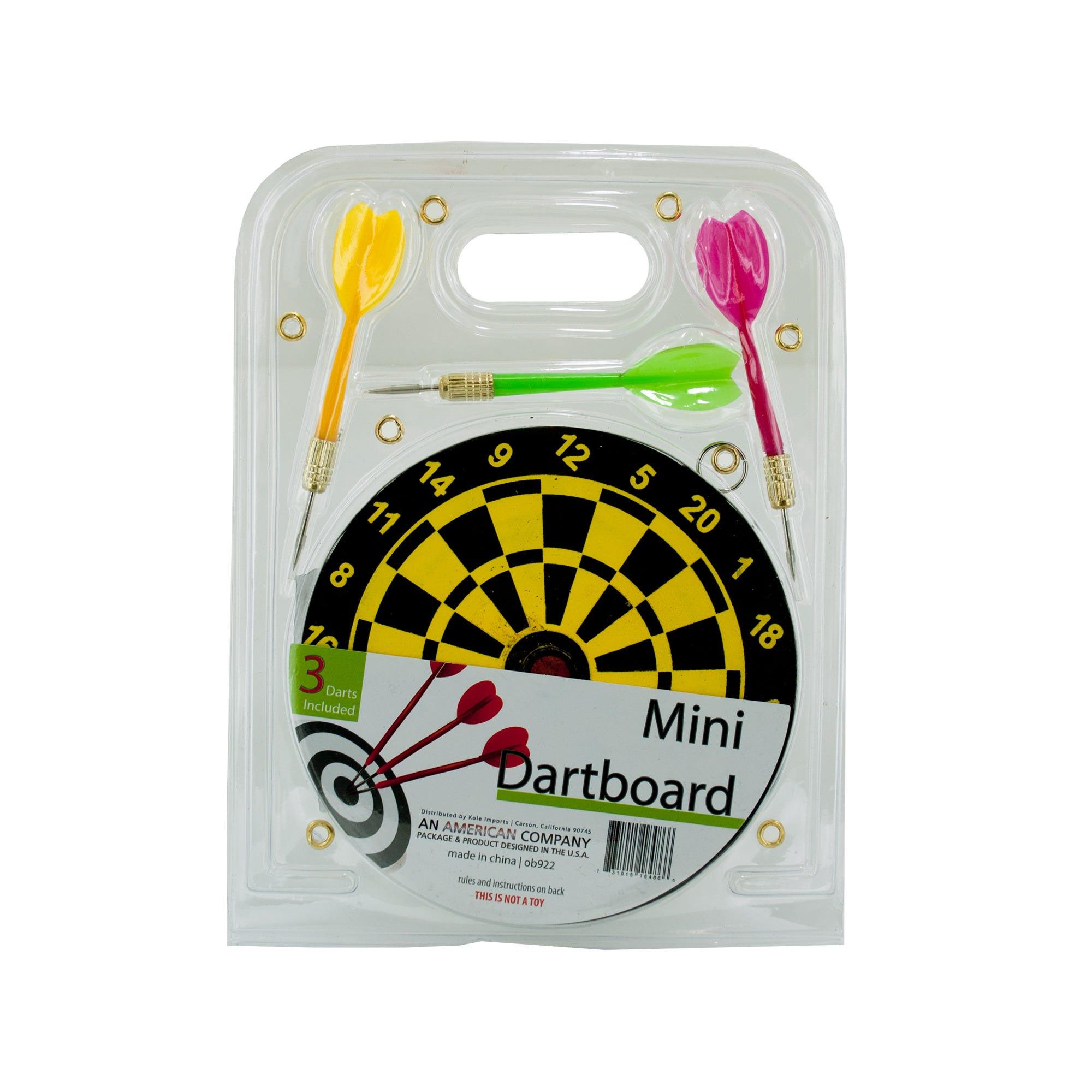 Mini Dartboard Set- Qty 18