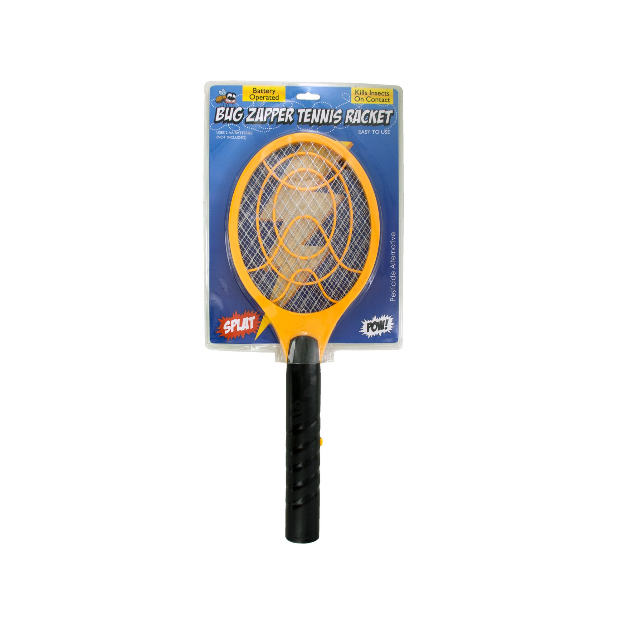 Battery Operated Bug Zapper TENNIS RACKET- Qty 6