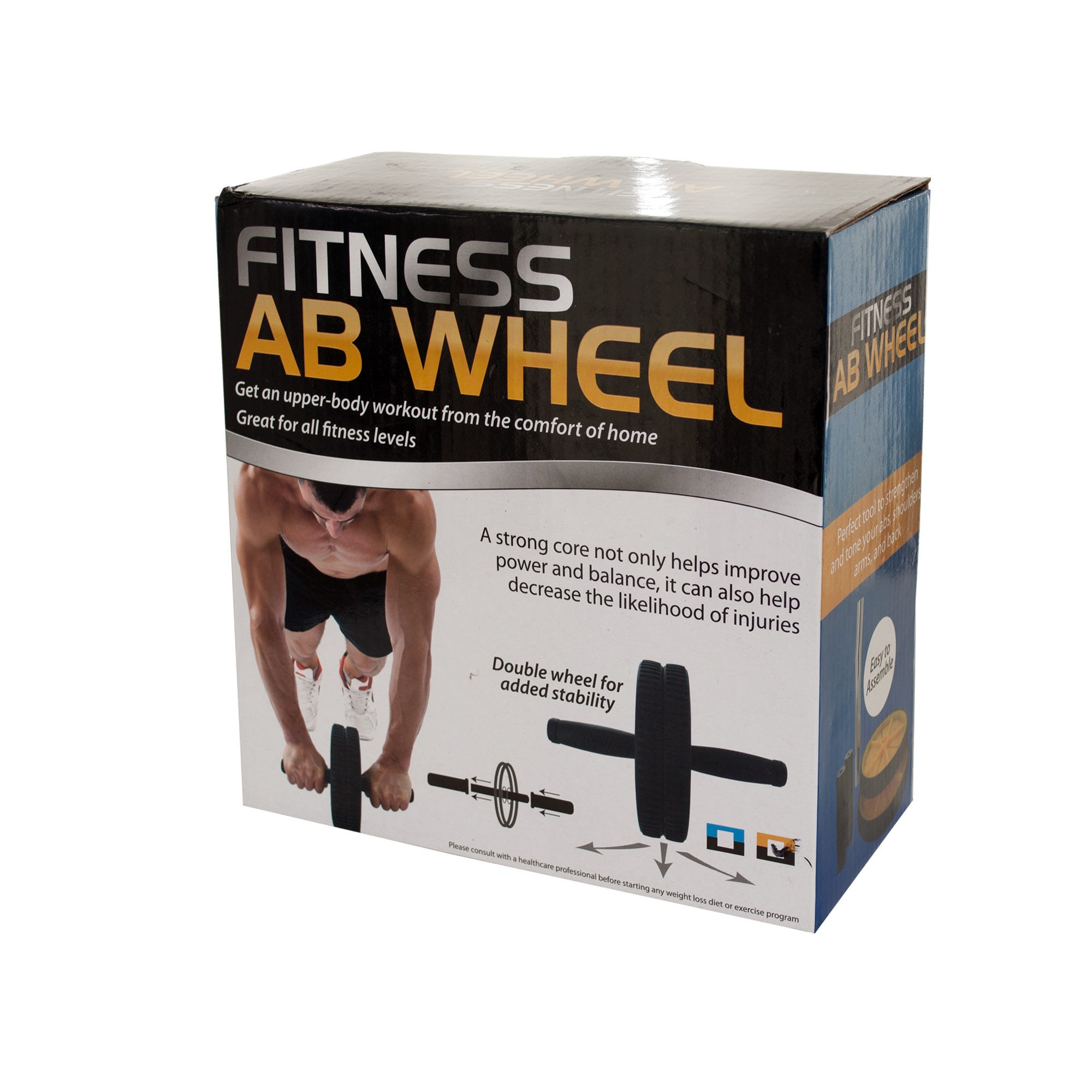 Fitness Ab Wheel- Qty 4