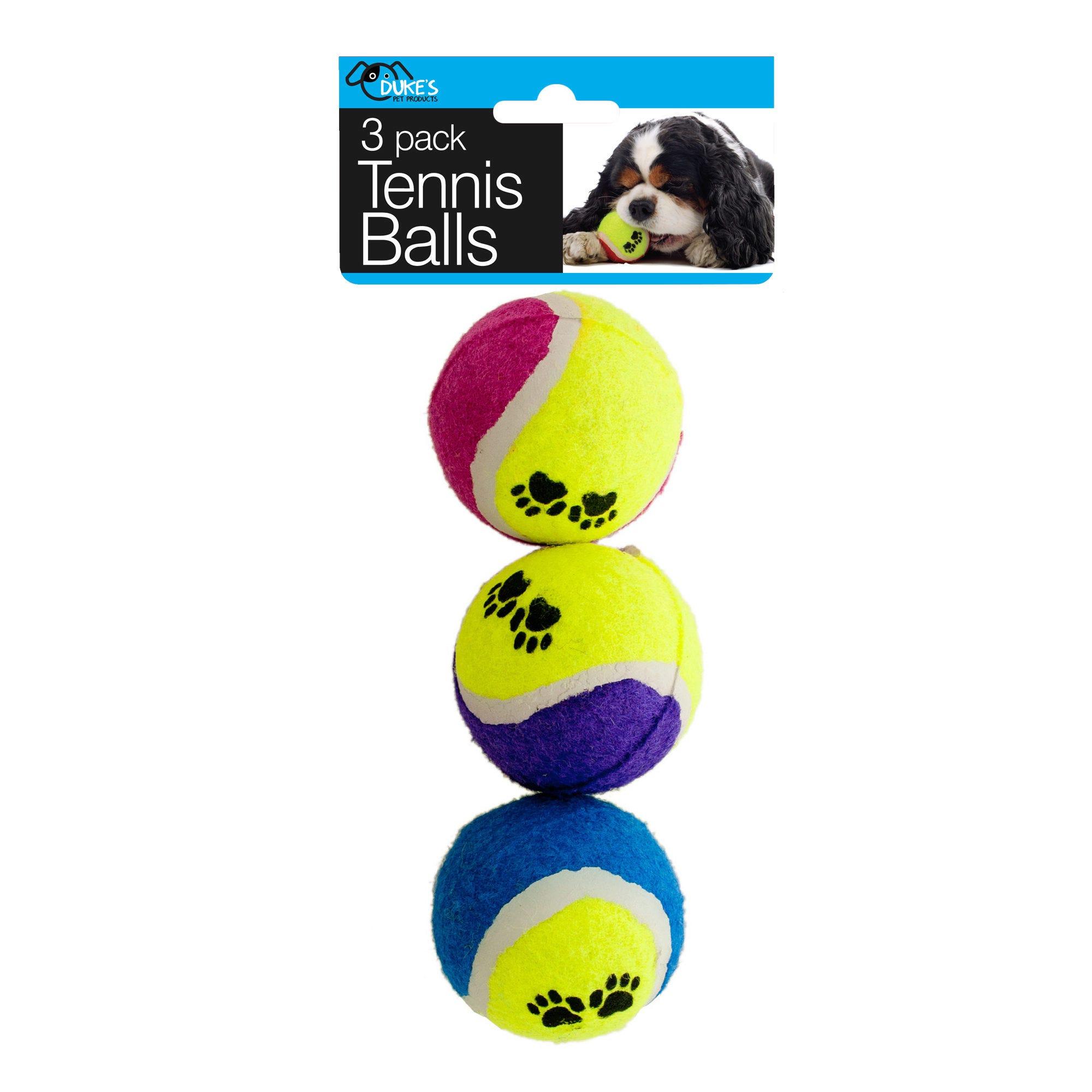 Dog TENNIS BALLS Set- Qty 18
