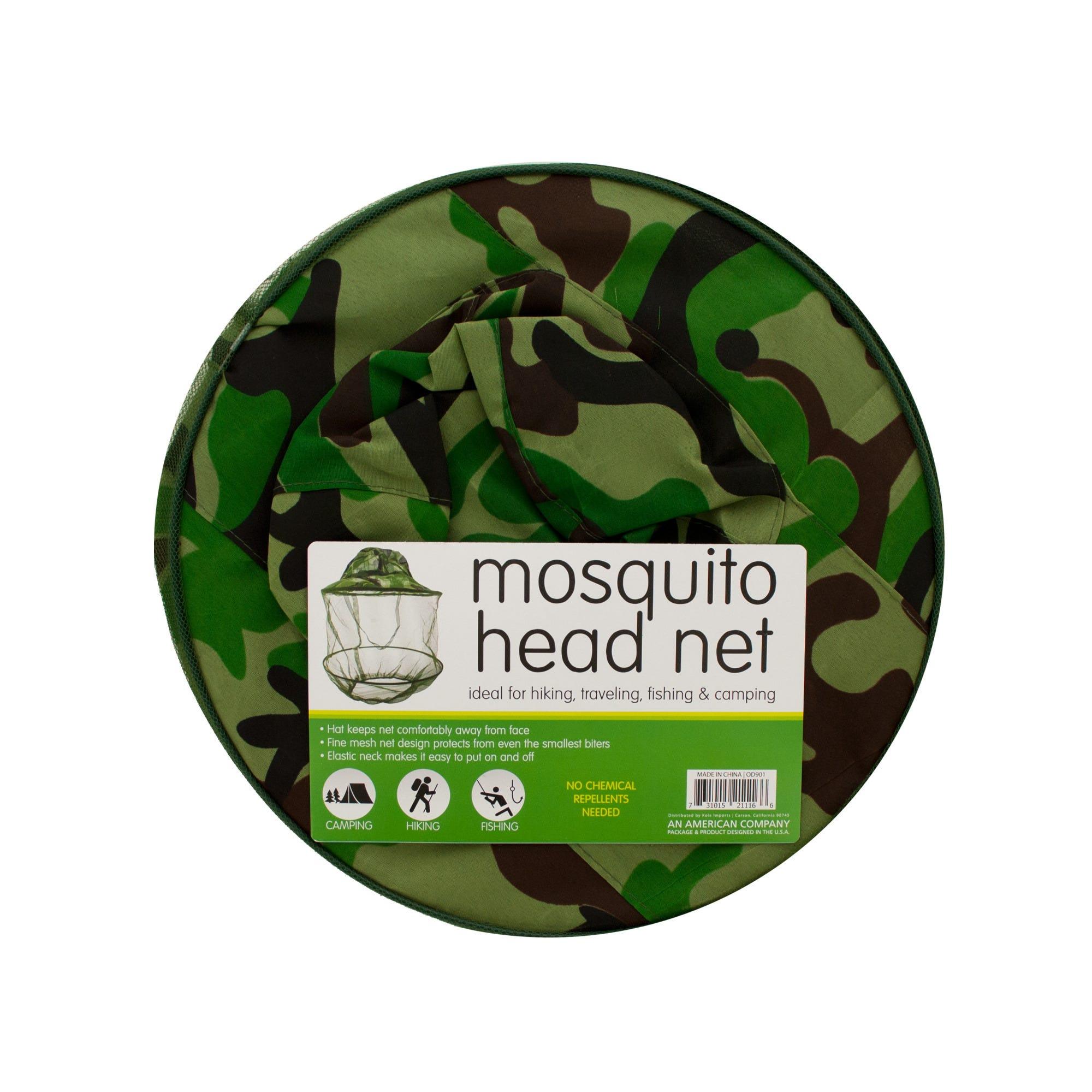 Mosquito Head Net Hat- Qty 8