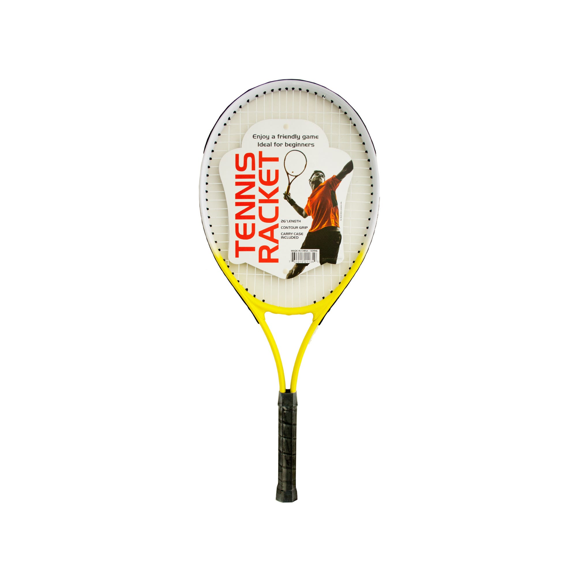Tennis Racket with Carry Case- Qty 4