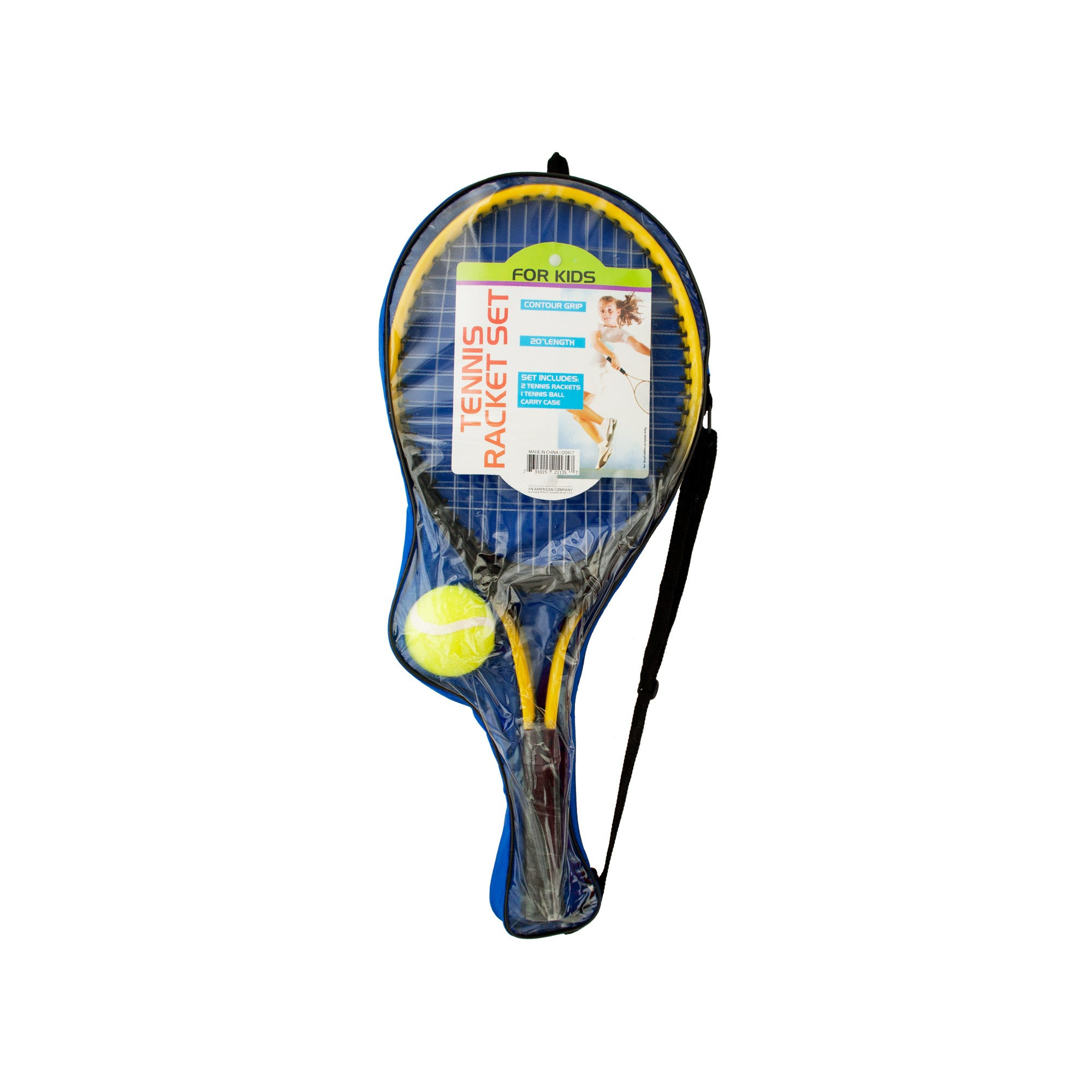 Kids Tennis Racket Set with Ball- Qty 4