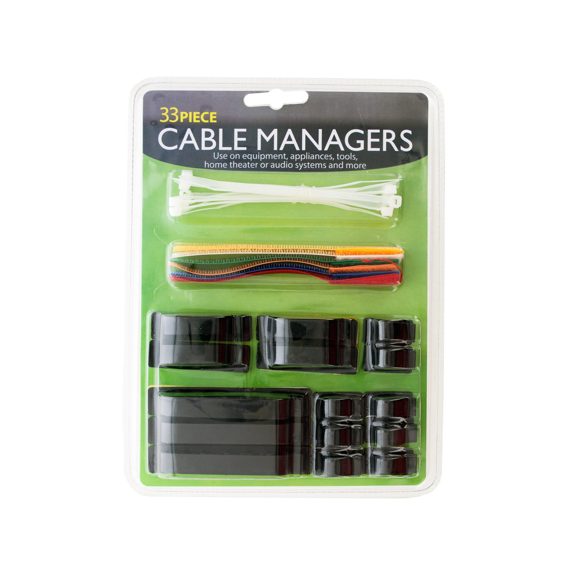 Cable Management Set- Qty 18