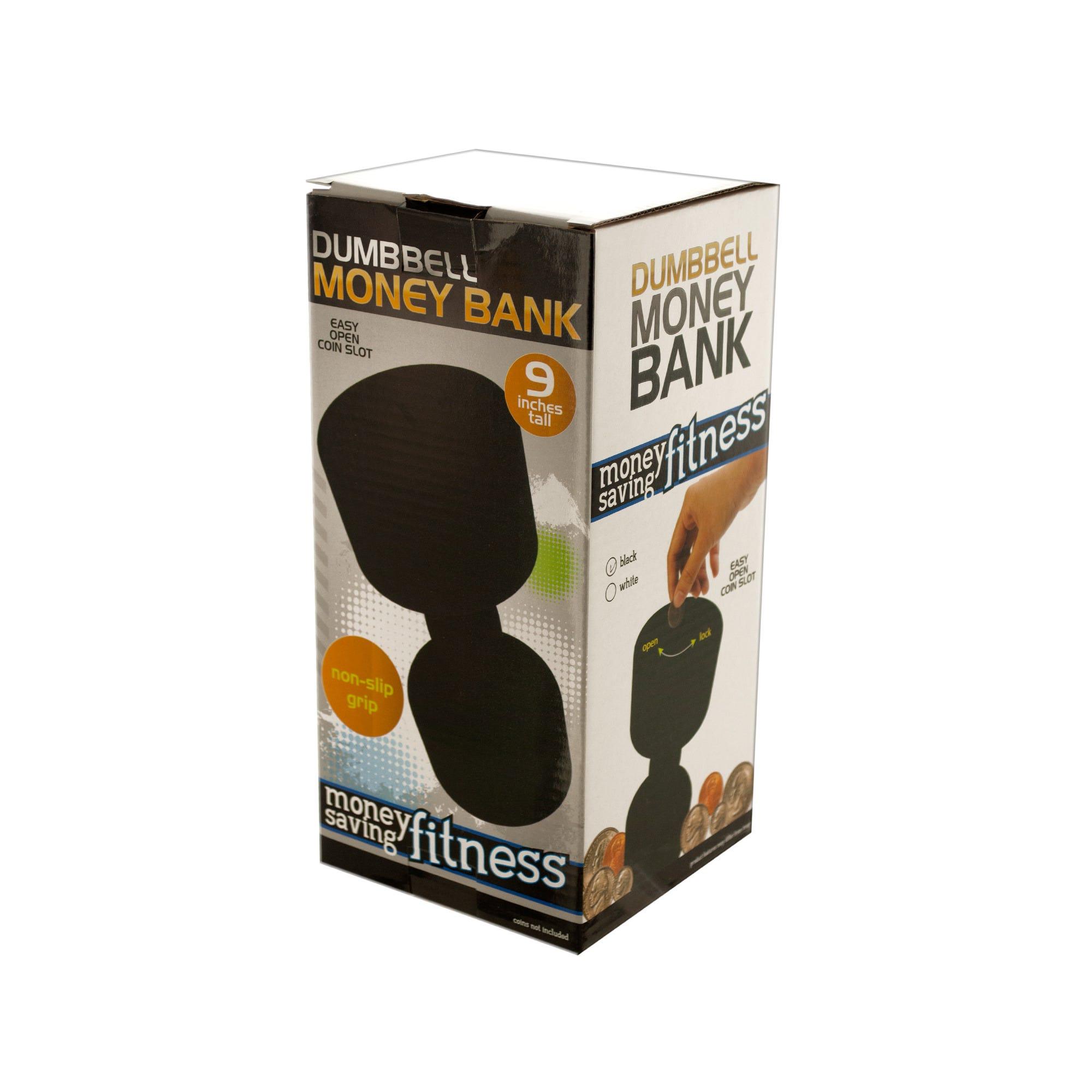 Dumbbell Money Bank- Qty 4
