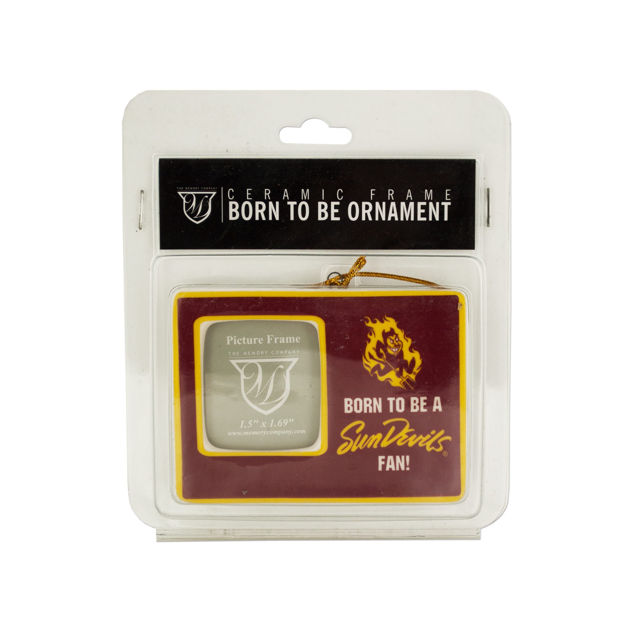 Wholesale licensed now available at wholesale central items 81 120 arizona state university ceramic picture frame ornament qty 18 jeuxipadfo Image collections