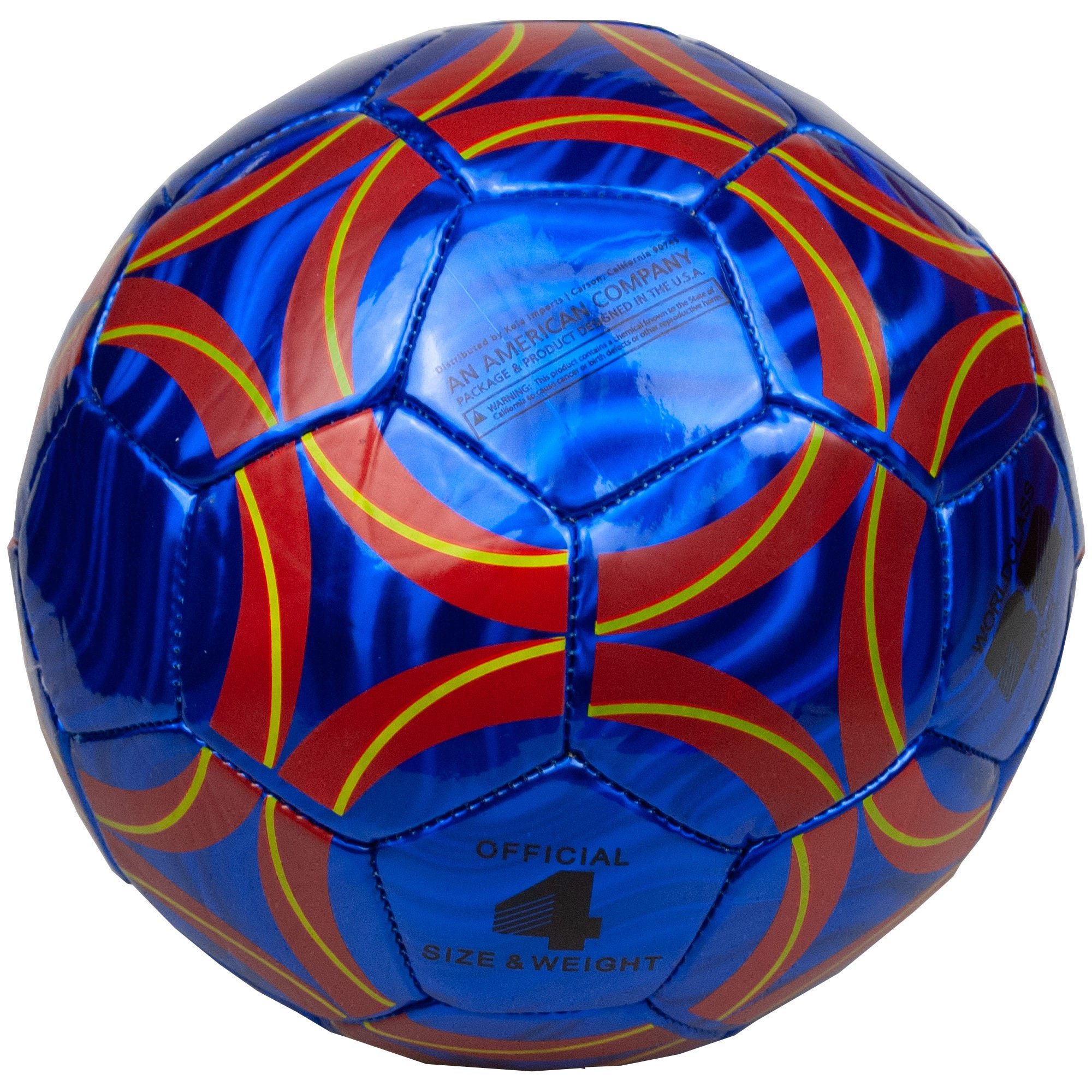 Size 4 Laser Soccer Ball- Qty 4