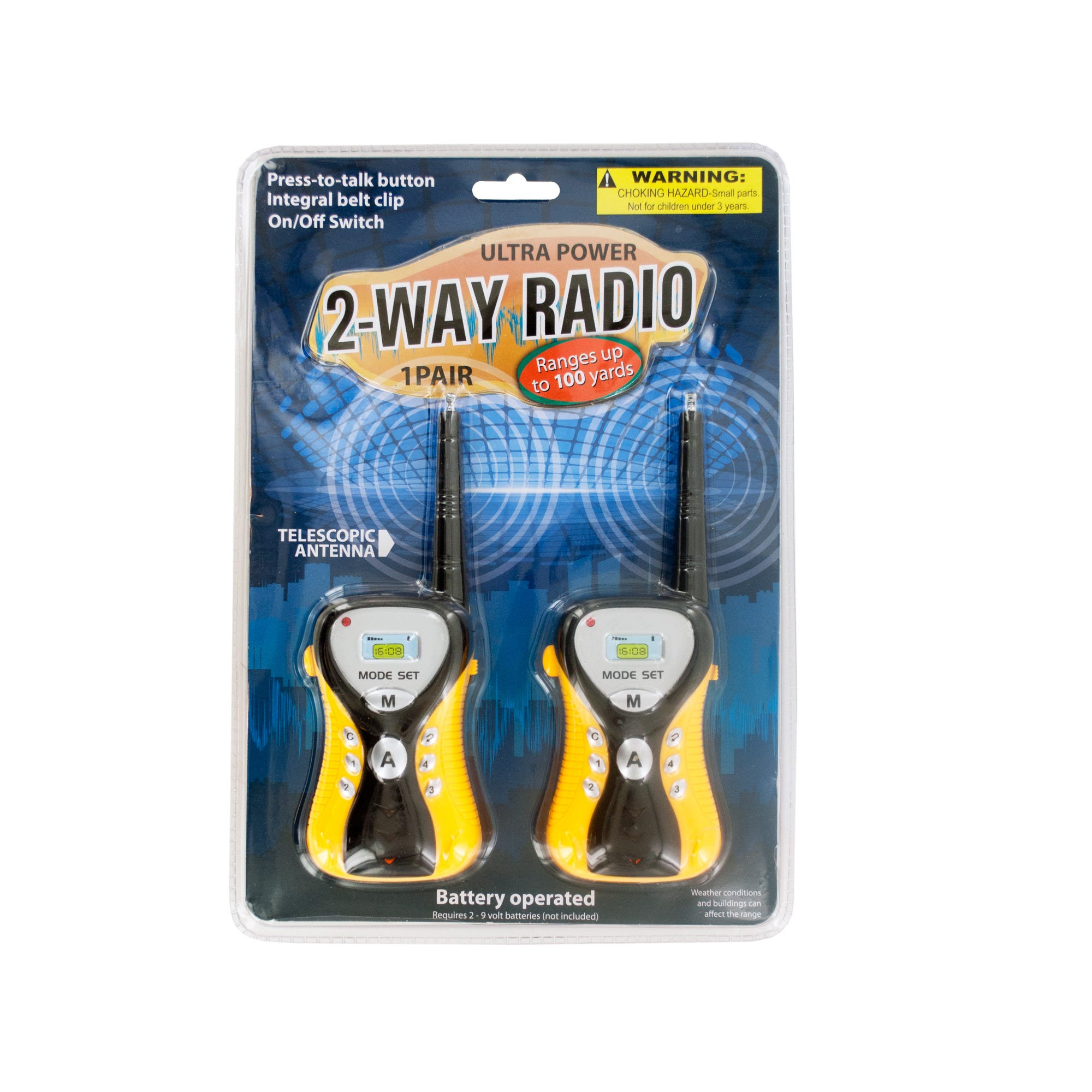 Ultra Power 2-Way Radio Set