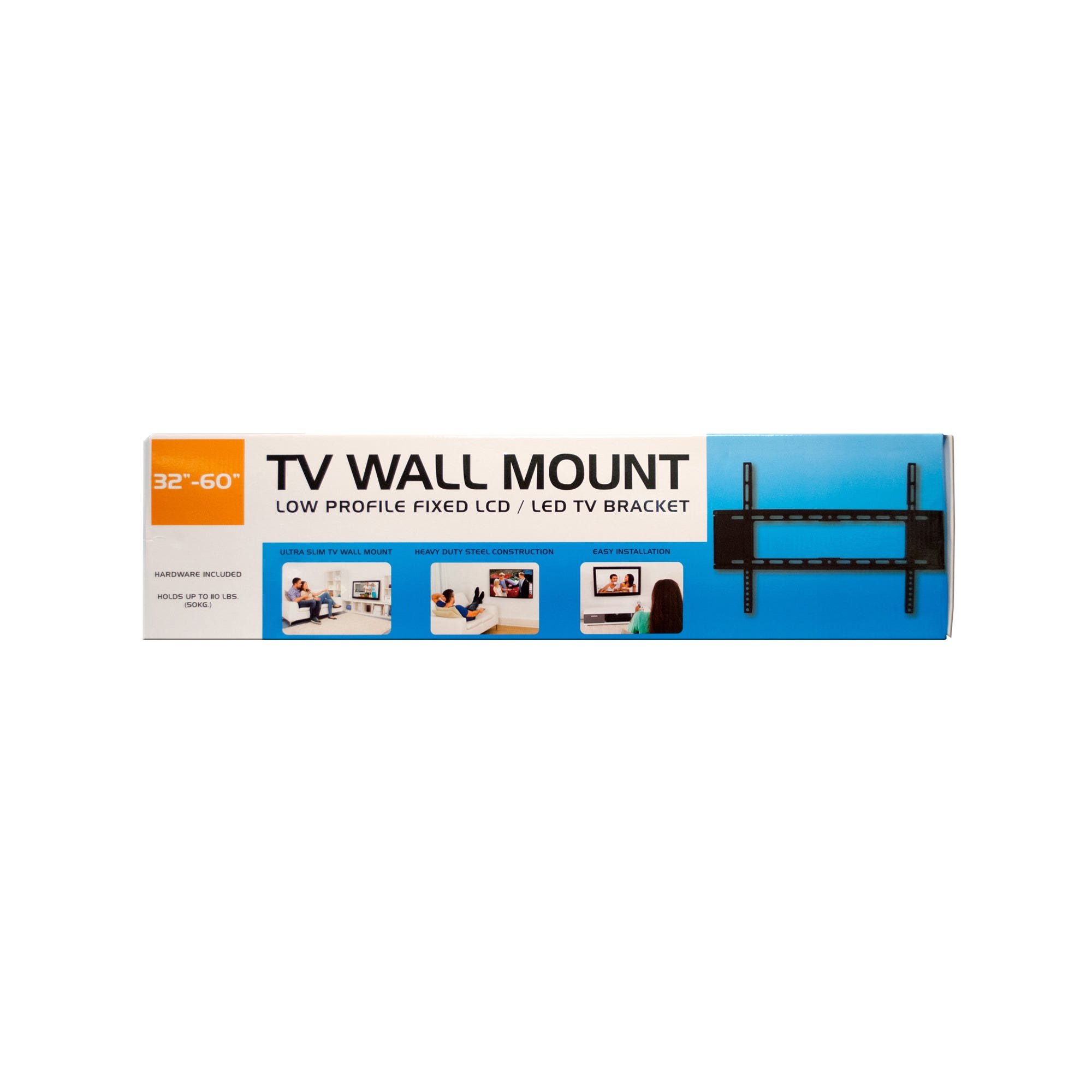 Large Low Profile TV Wall Mount- Qty 4