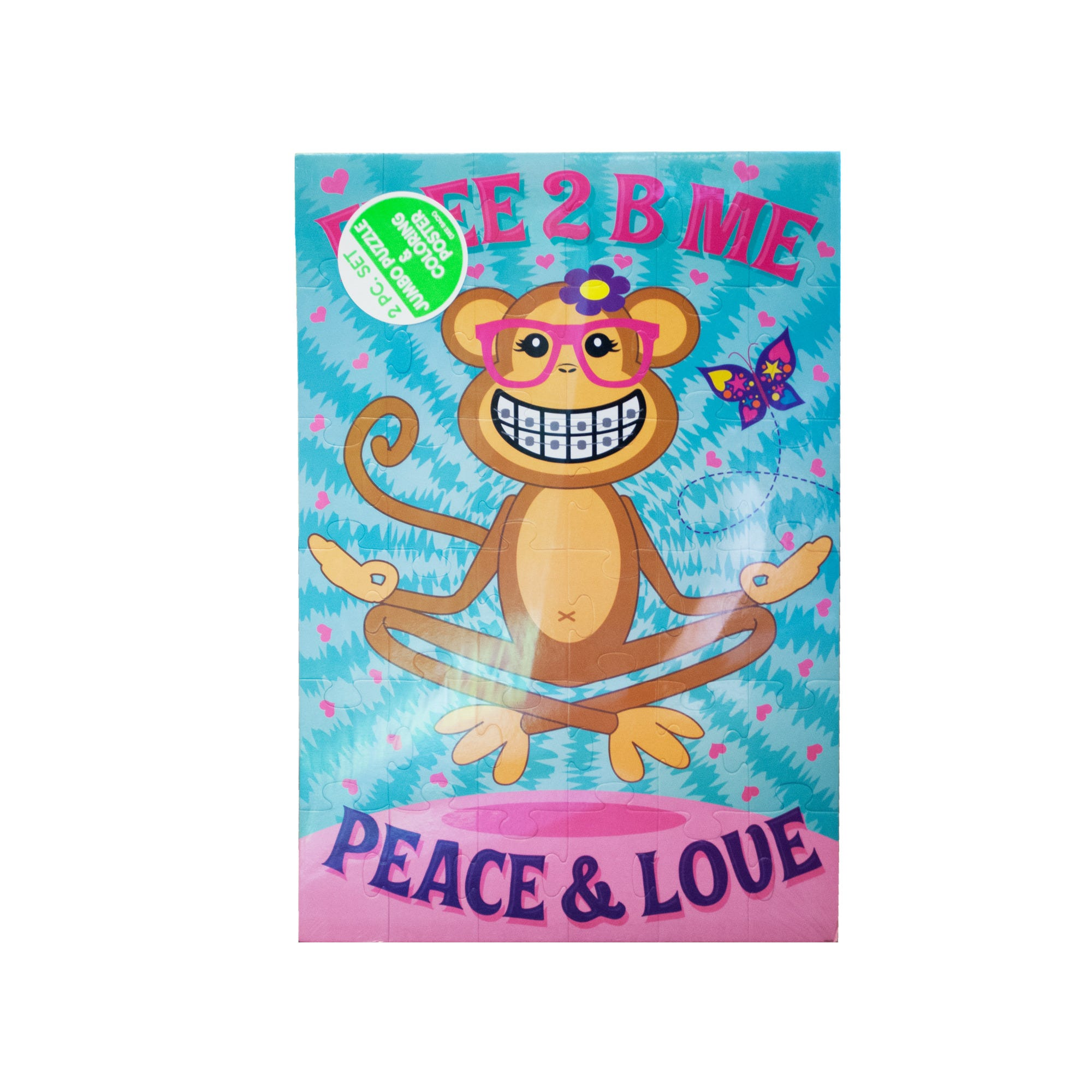 Jumbo Puzzle & Coloring POSTER Set- Qty 18