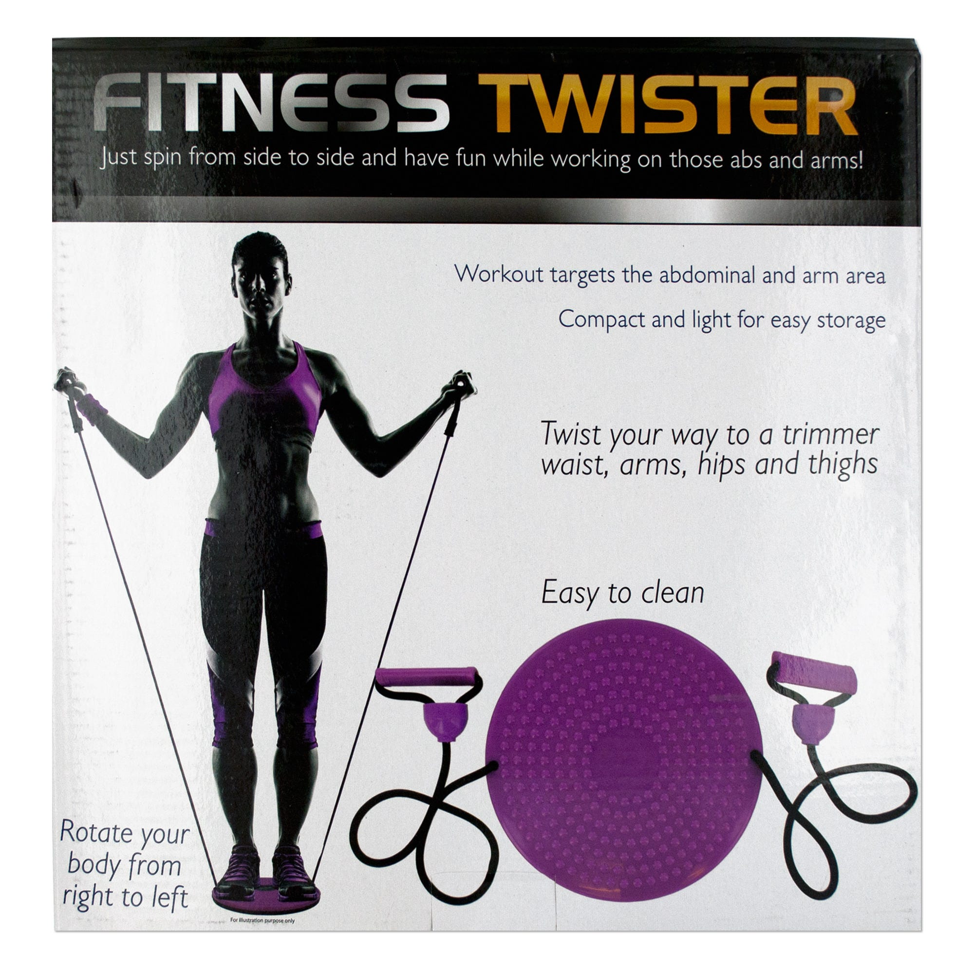 Fitness Twister with Handles- Qty 4