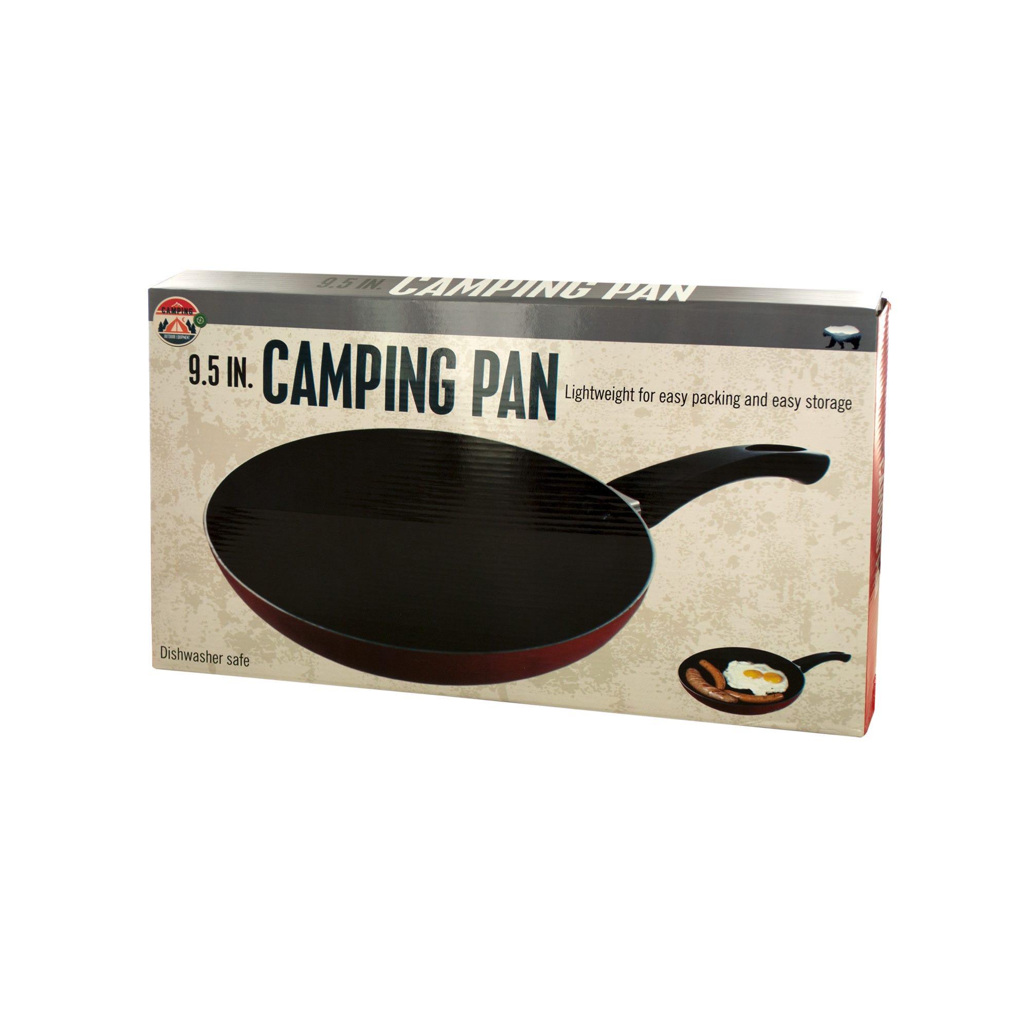 Lightweight Camping Pan- Qty 4