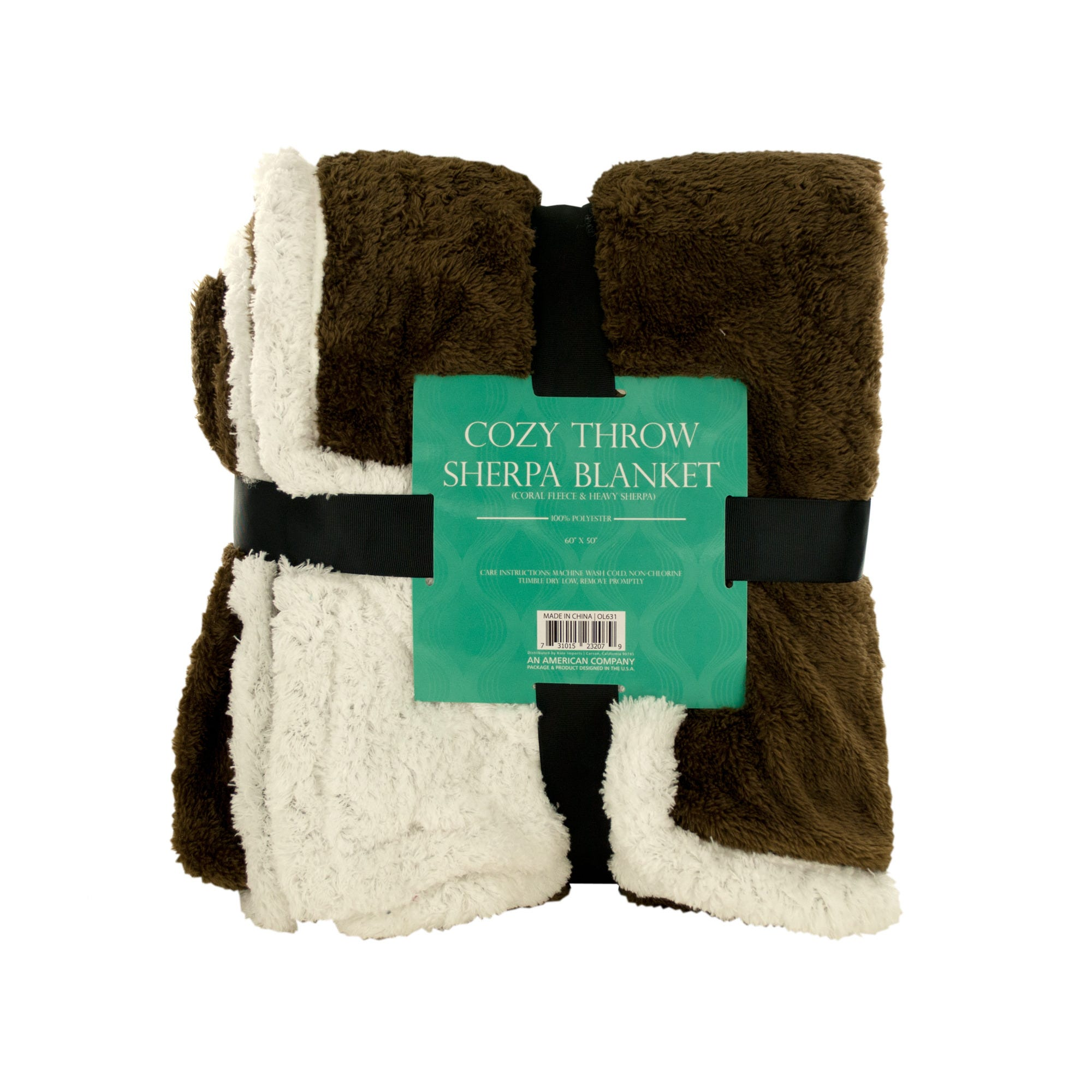Cozy Coral FLEECE & Heavy Sherpa Throw BLANKET- Qty 4