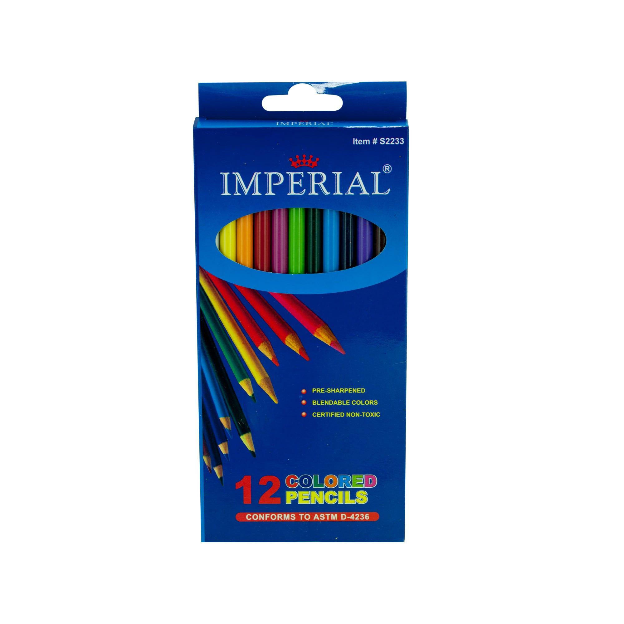 Blendable Colored Pencils Set- Qty 24
