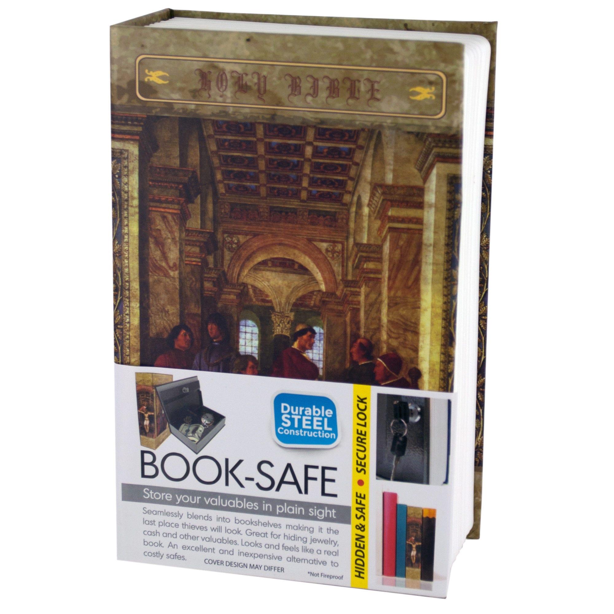 Small Hidden Bible BOOK Safe- Qty 4