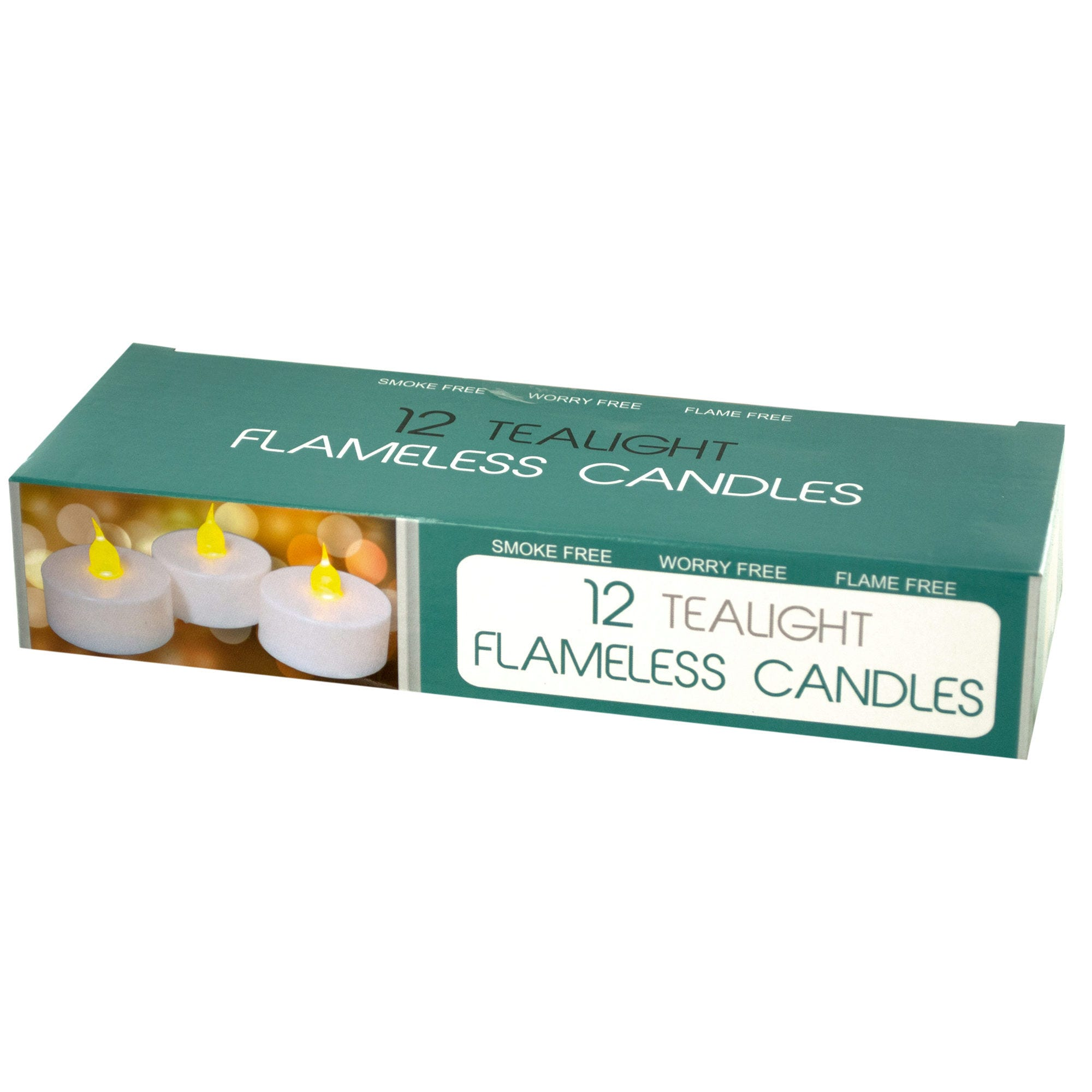 LED Flameless TEALIGHT Candles Set- Qty 4