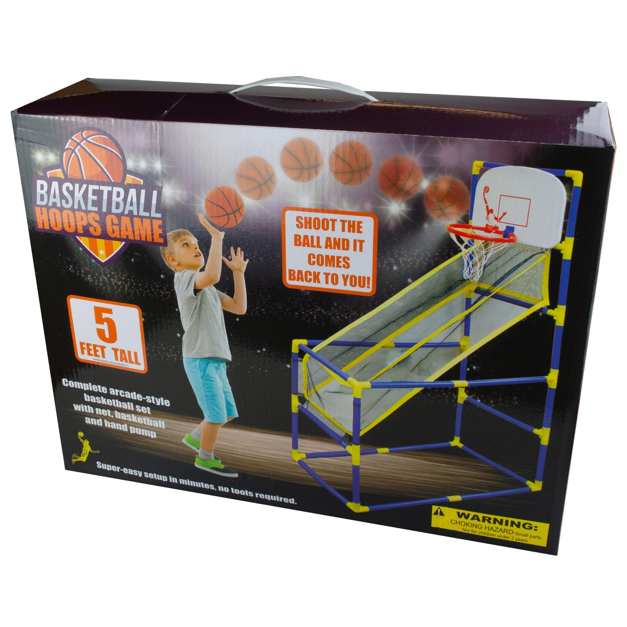 Arcade-Style BASKETBALL Hoops Game- Qty 2