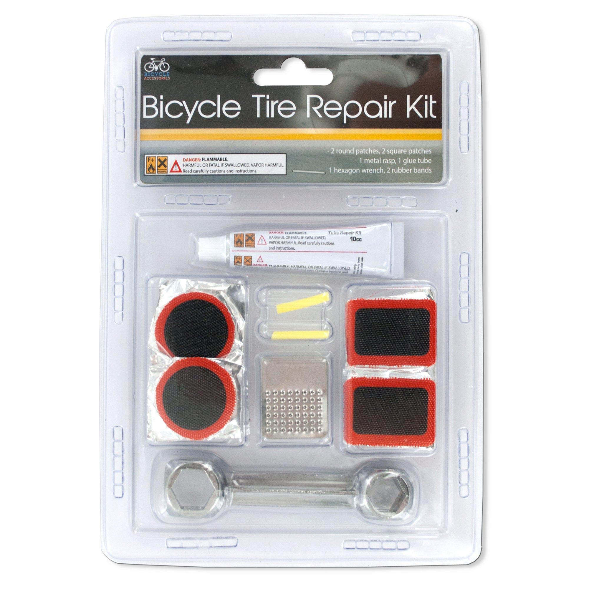 Bicycle Tire Repair Kit- Qty 18