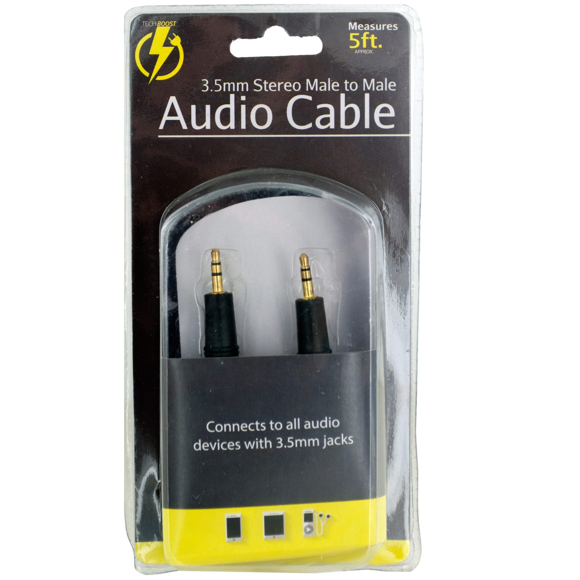 Stereo Male to Male Audio Cable- Qty 18