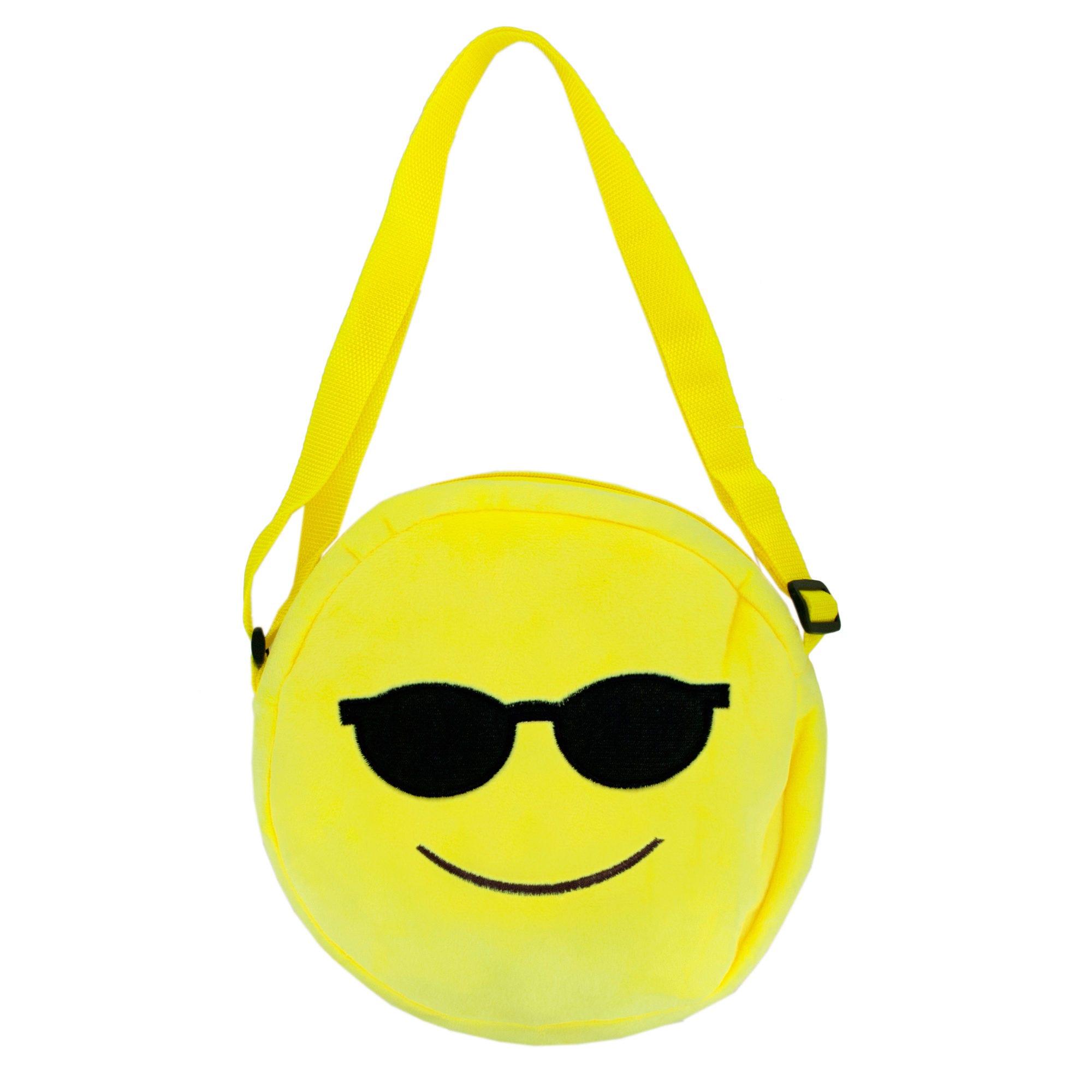 Emoticon Plush SHOULDER BAG- Qty 6