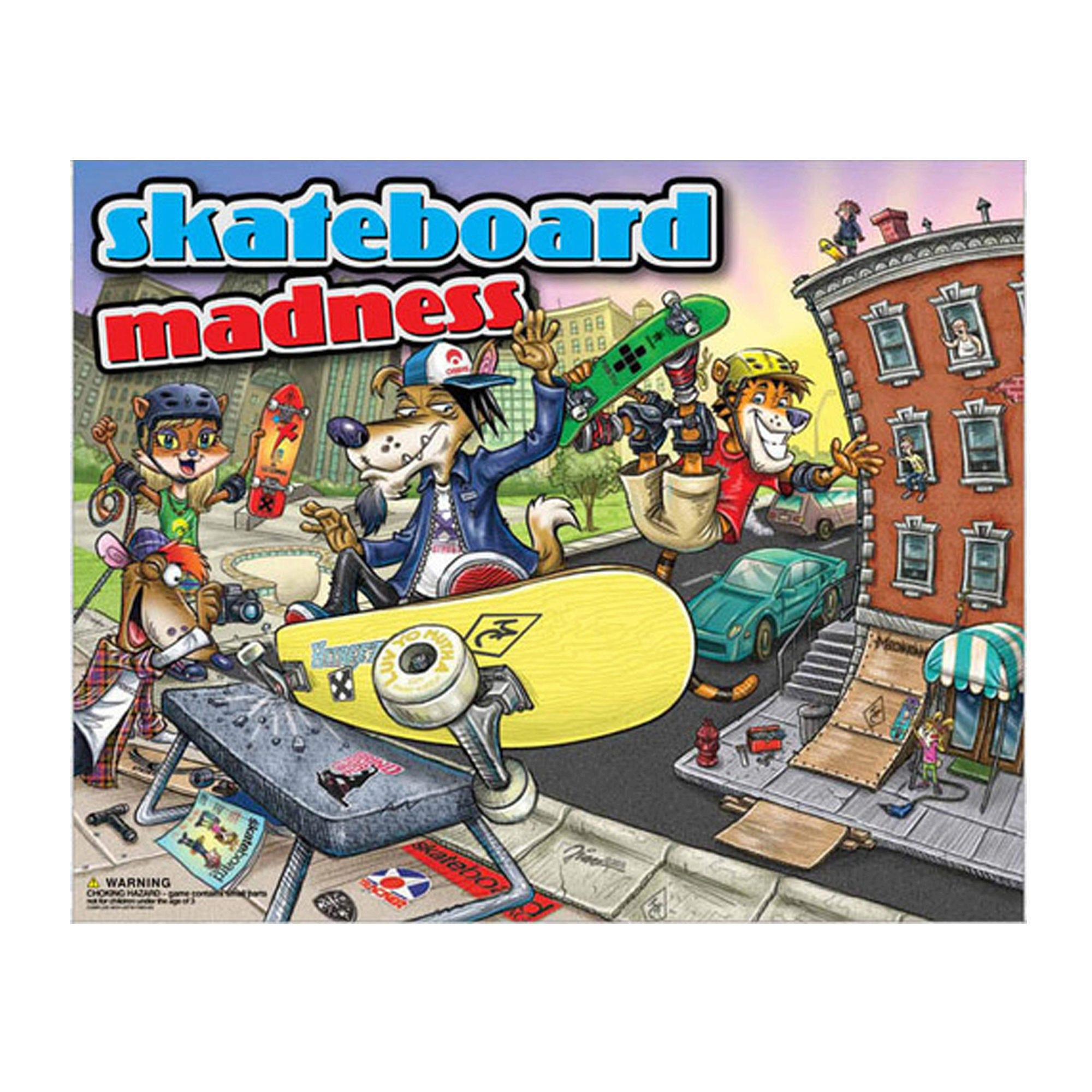 SKATEBOARD Madness Board Game- Qty 4