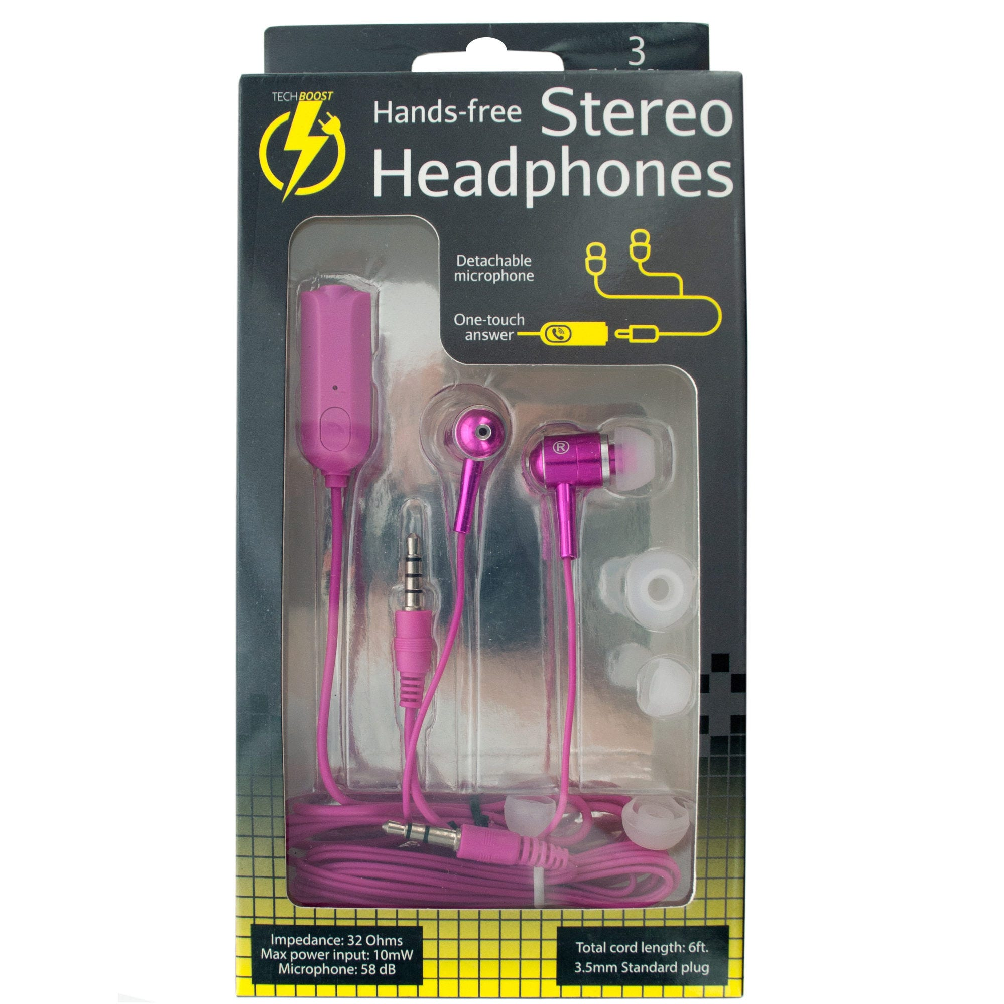 Hands-Free Stereo Headphones- Qty 8