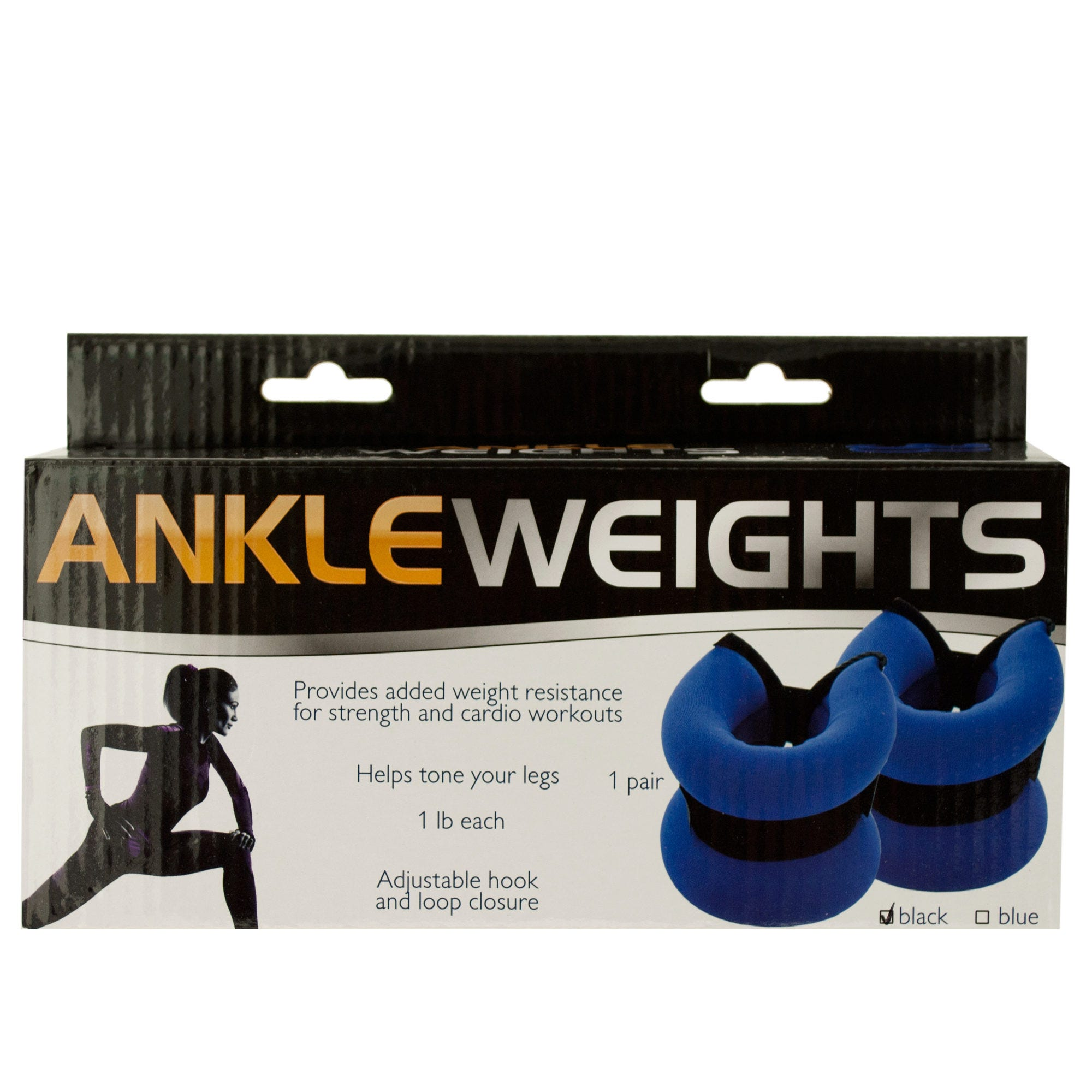 1 Pound Adjustable Ankle Weights- Qty 6