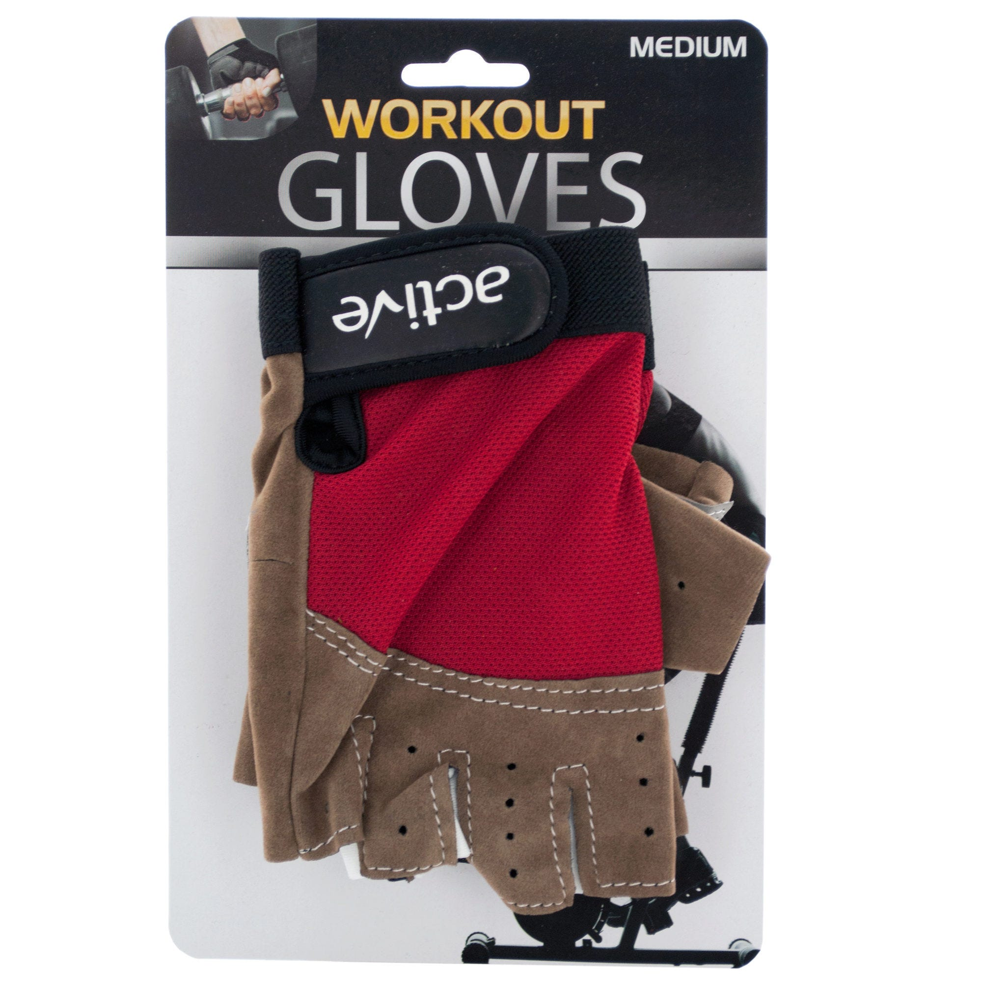 Medium Size Breathable Workout GLOVES- Qty 8