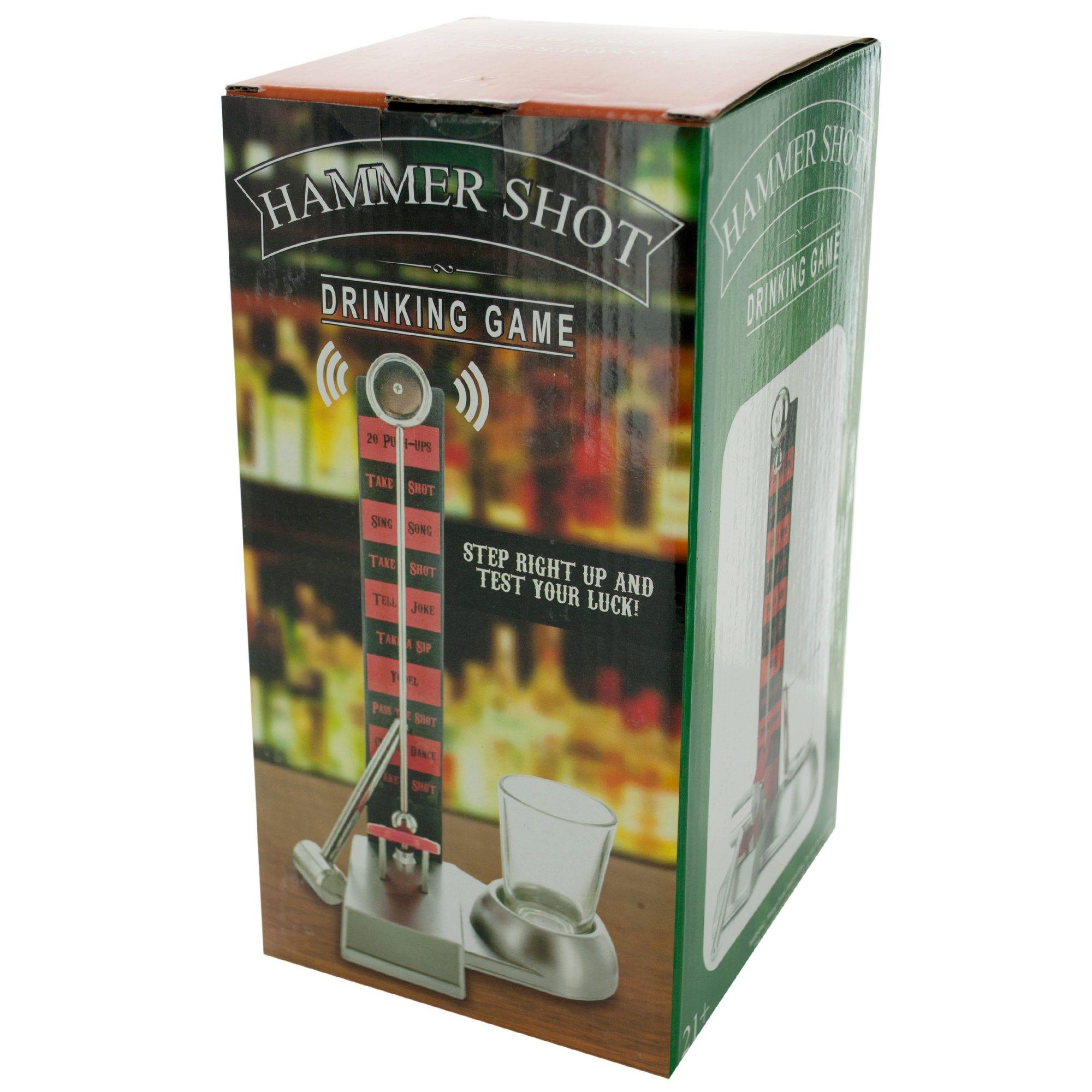 HAMMER Shot Drinking Game- Qty 4