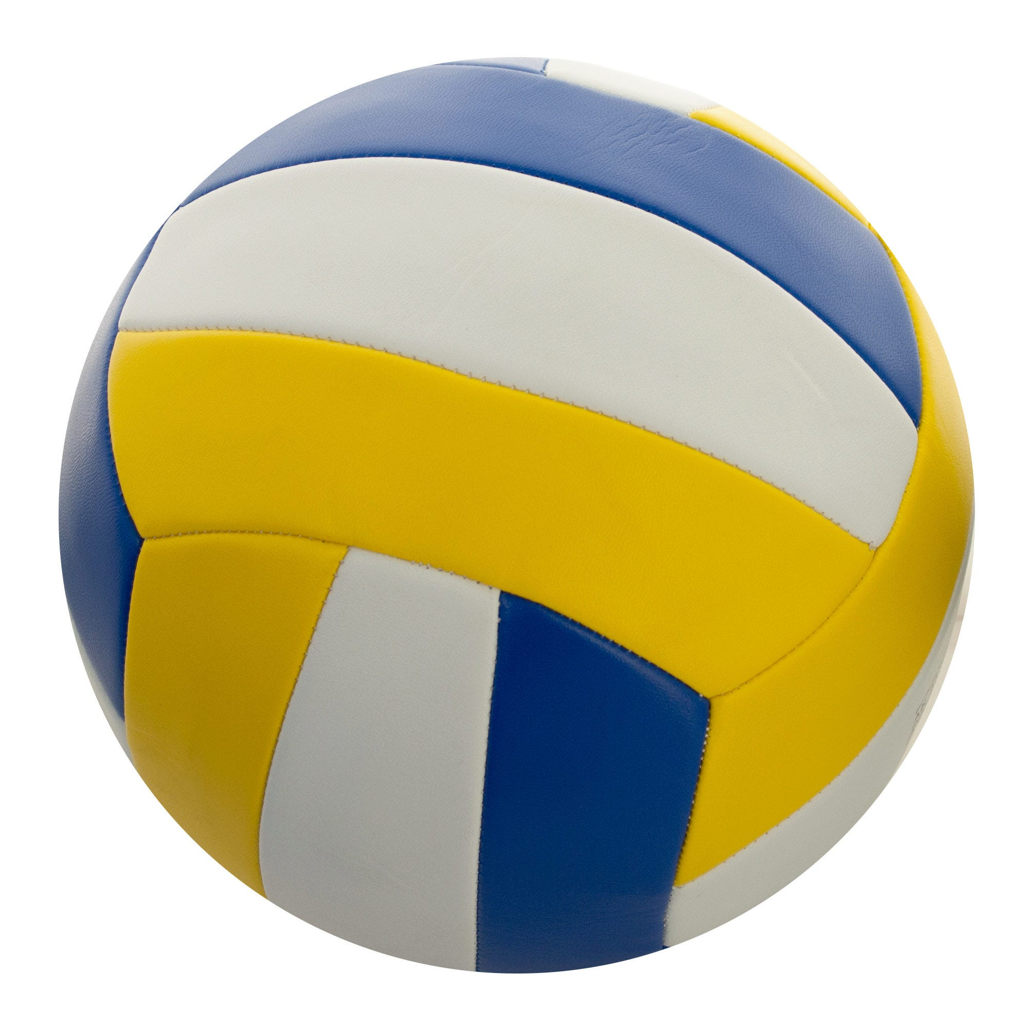 Size 5 Yellow & Blue VOLLEYBALL- Qty 4