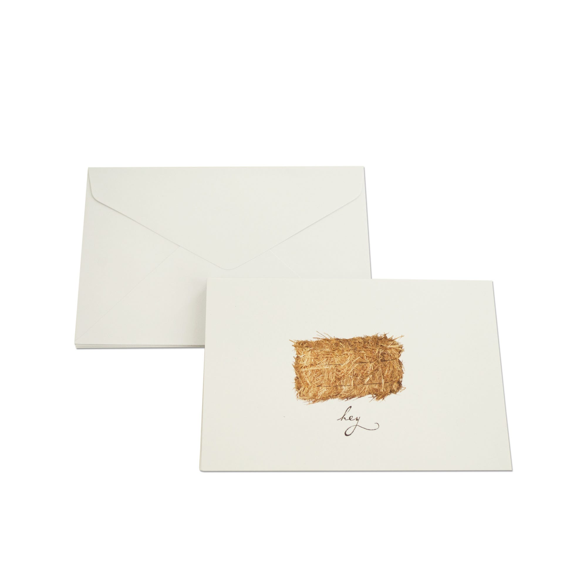 Hey Haystack Blank Note Cards & ENVELOPES Set- Qty 24
