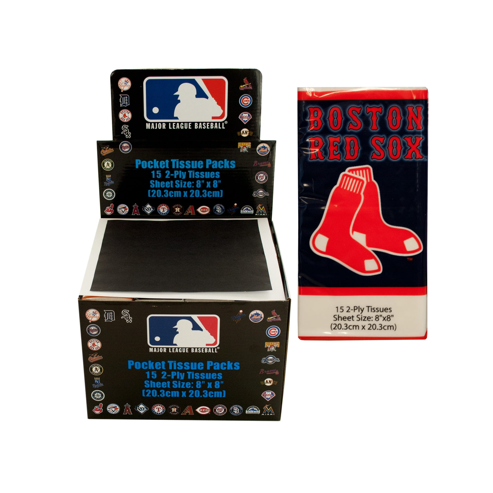 boston-RED-SOX-pocket-tissues-countertop-display