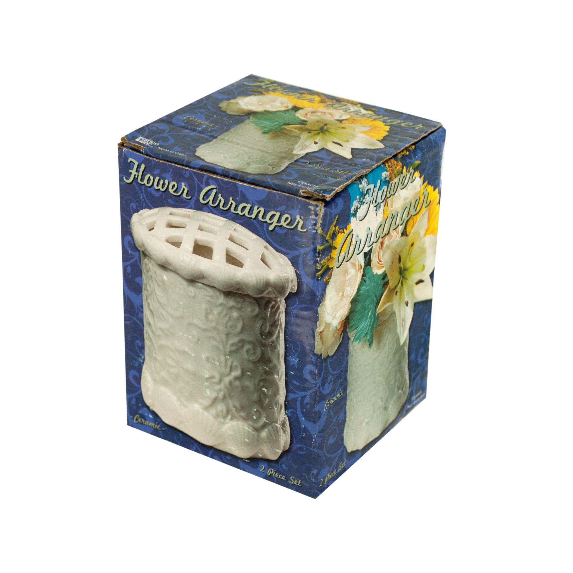 decorative-ceramic-flower-arranger-VASE