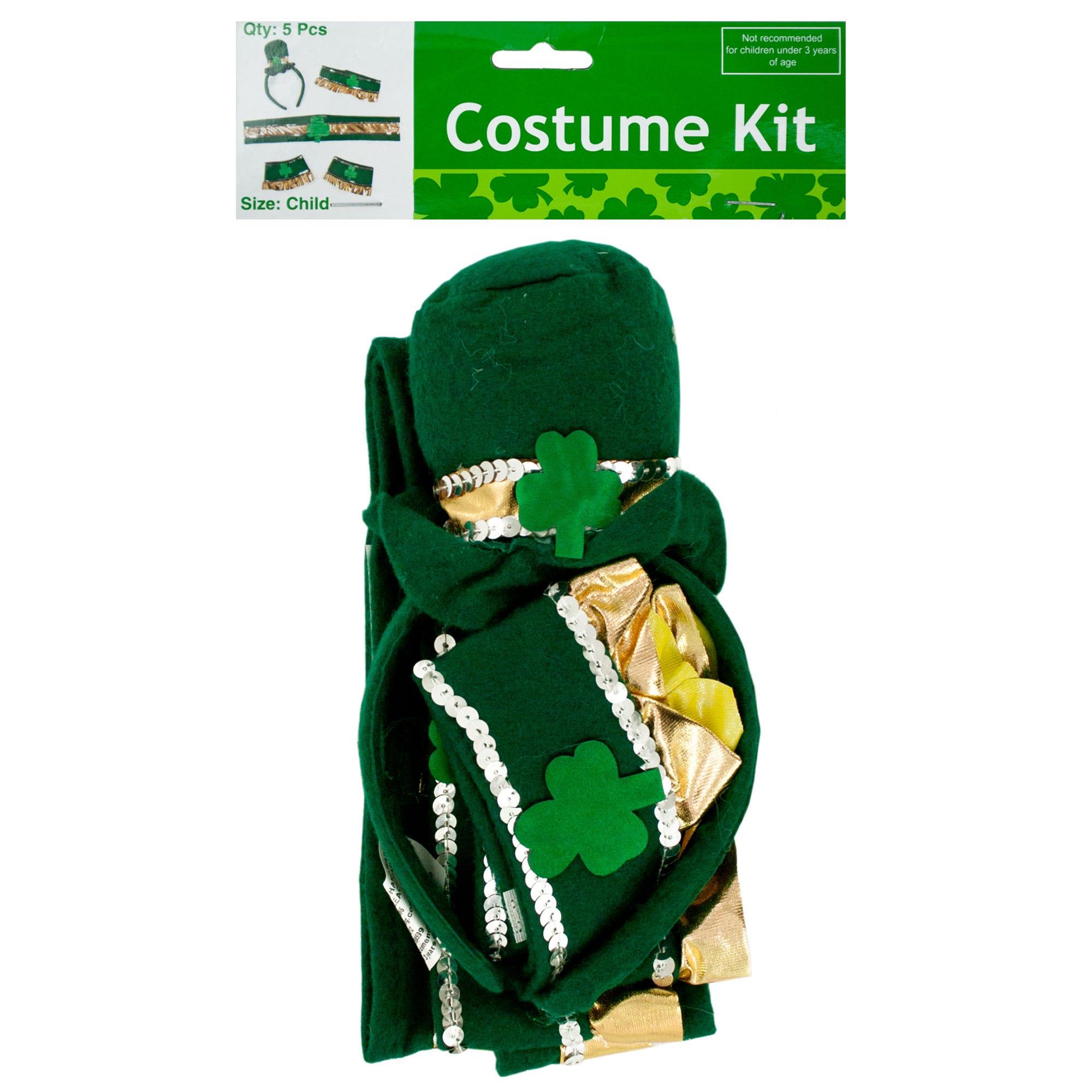 Leprechaun COSTUME Accessories Kit- Qty 18