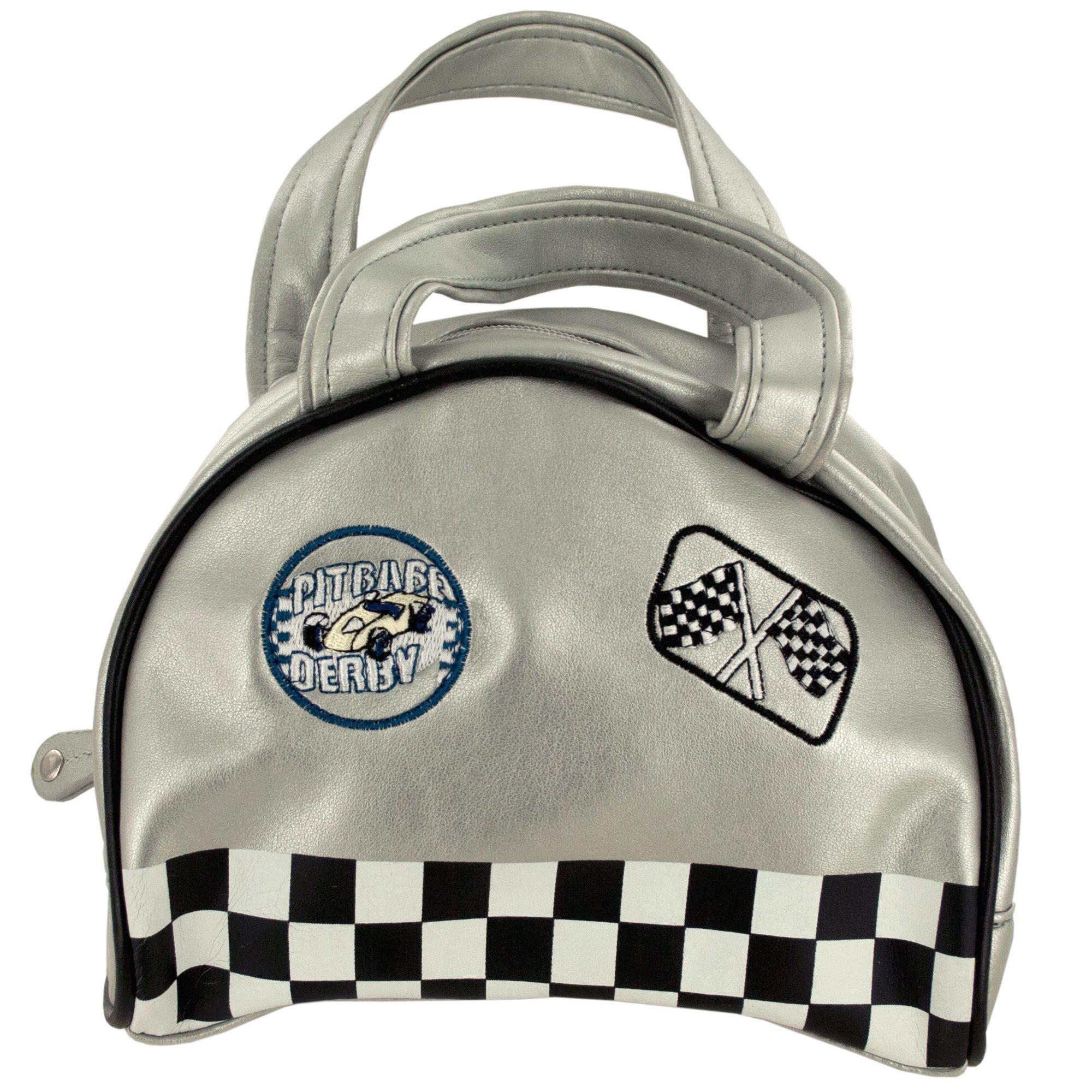 Silver Racer HANDBAG- Qty 18