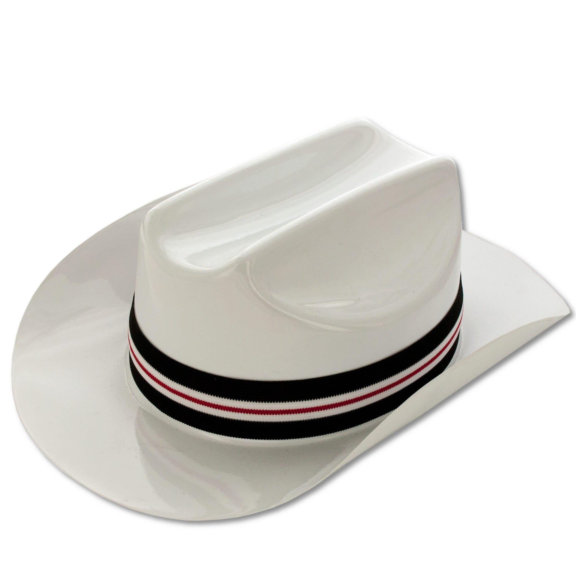White Cowboy COSTUME Hat- Qty 24