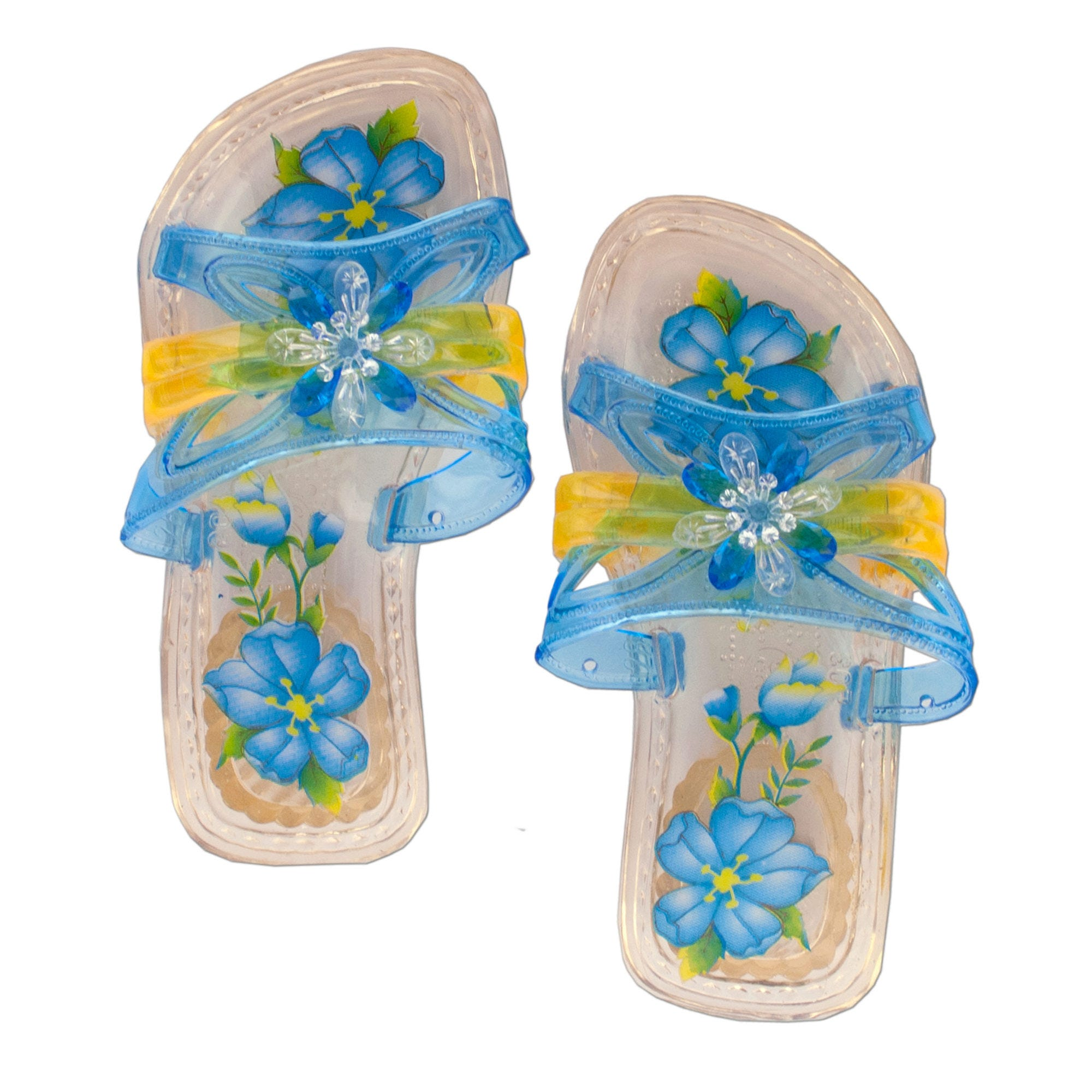 Children's Princess Crystal SLIPPERS- Qty 24
