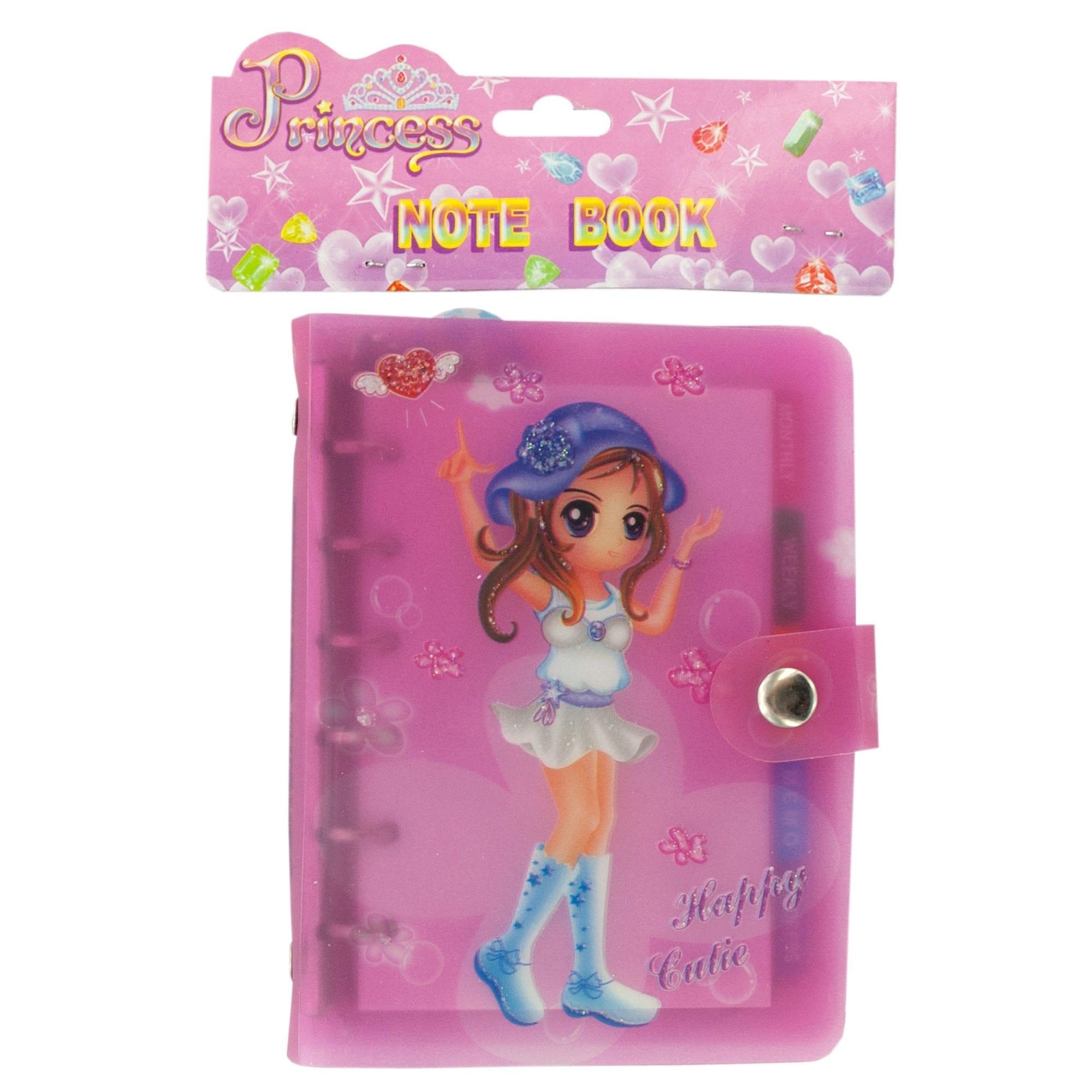 Pink Princess Planner NoteBOOK- Qty 24