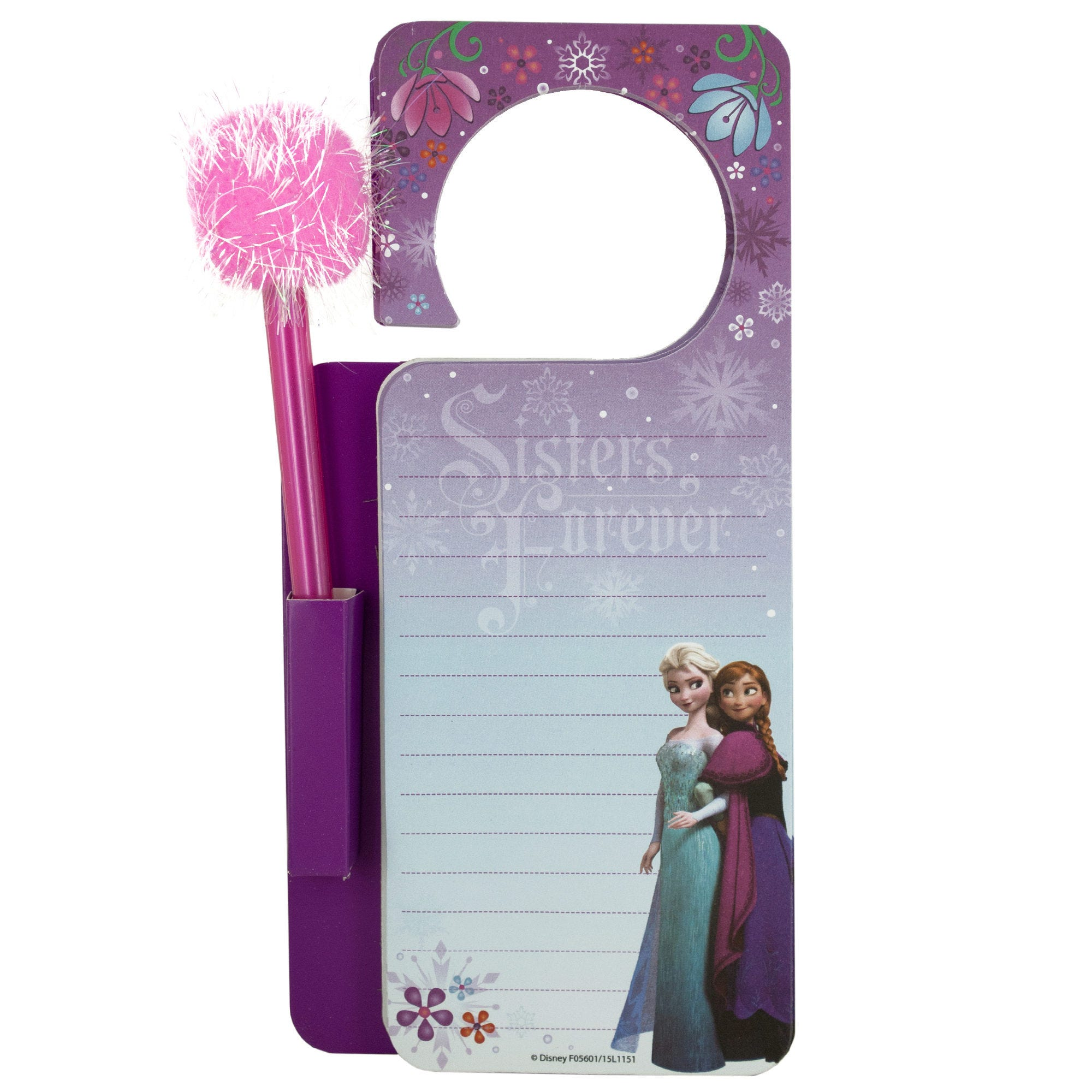 Disney Frozen Door Hanger Memo Pad & Pen Set- Qty 24