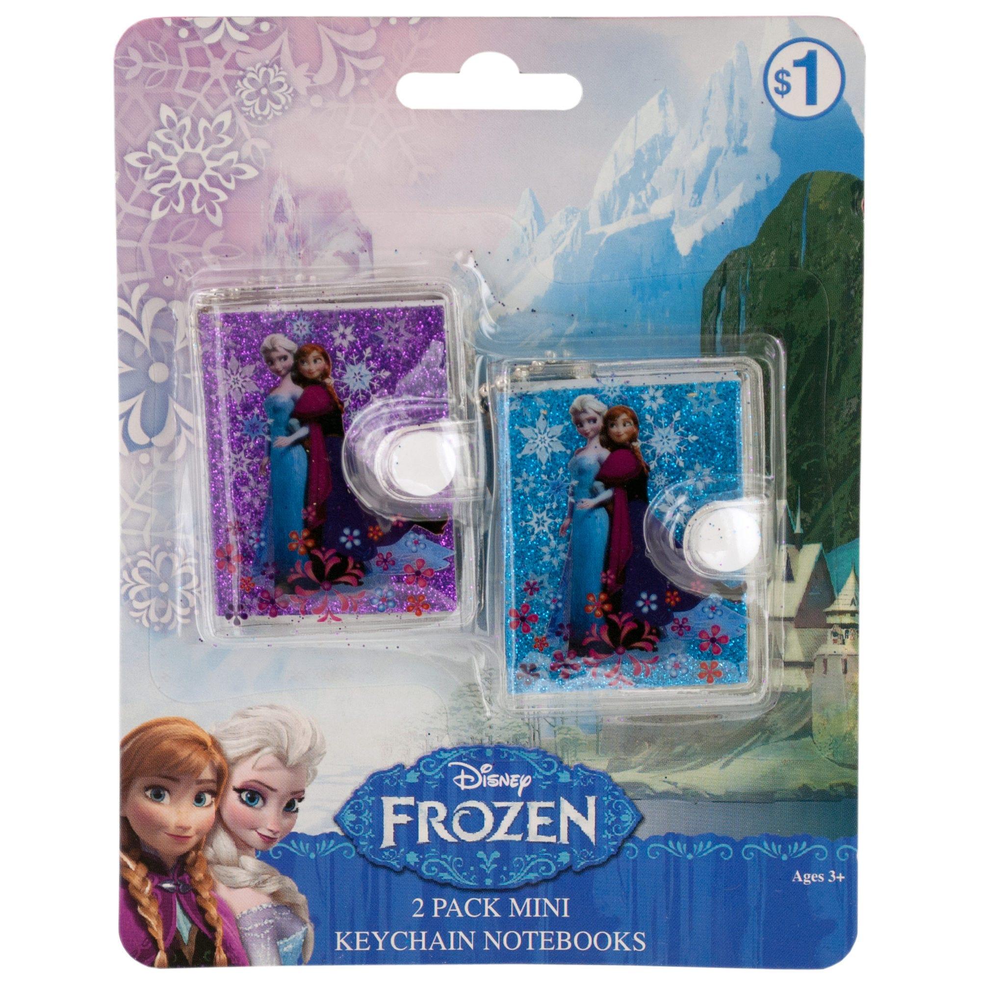 Disney Frozen Mini KEYCHAIN Notebooks Set- Qty 24