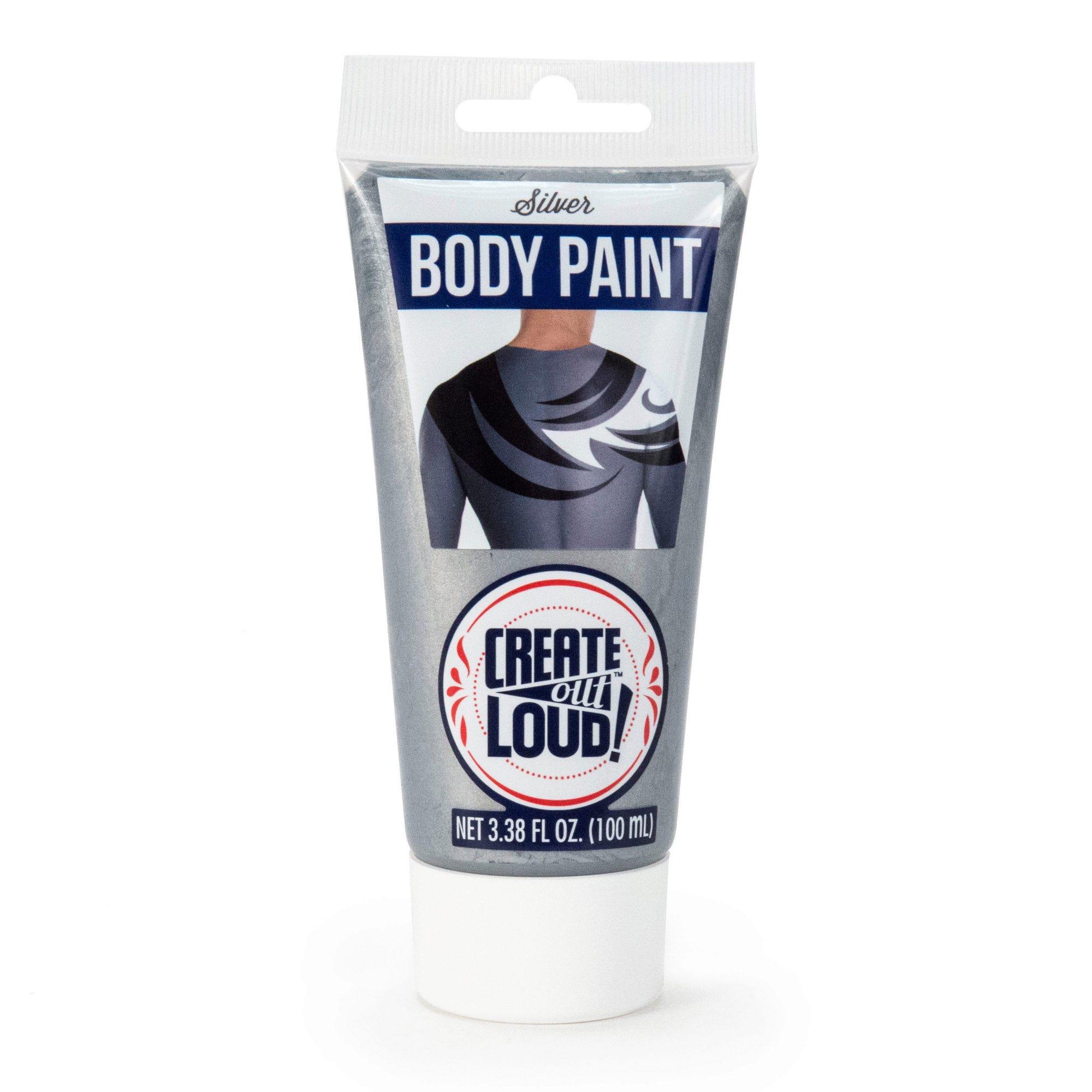 Body PAINT 3.38 Fl Oz - Silver